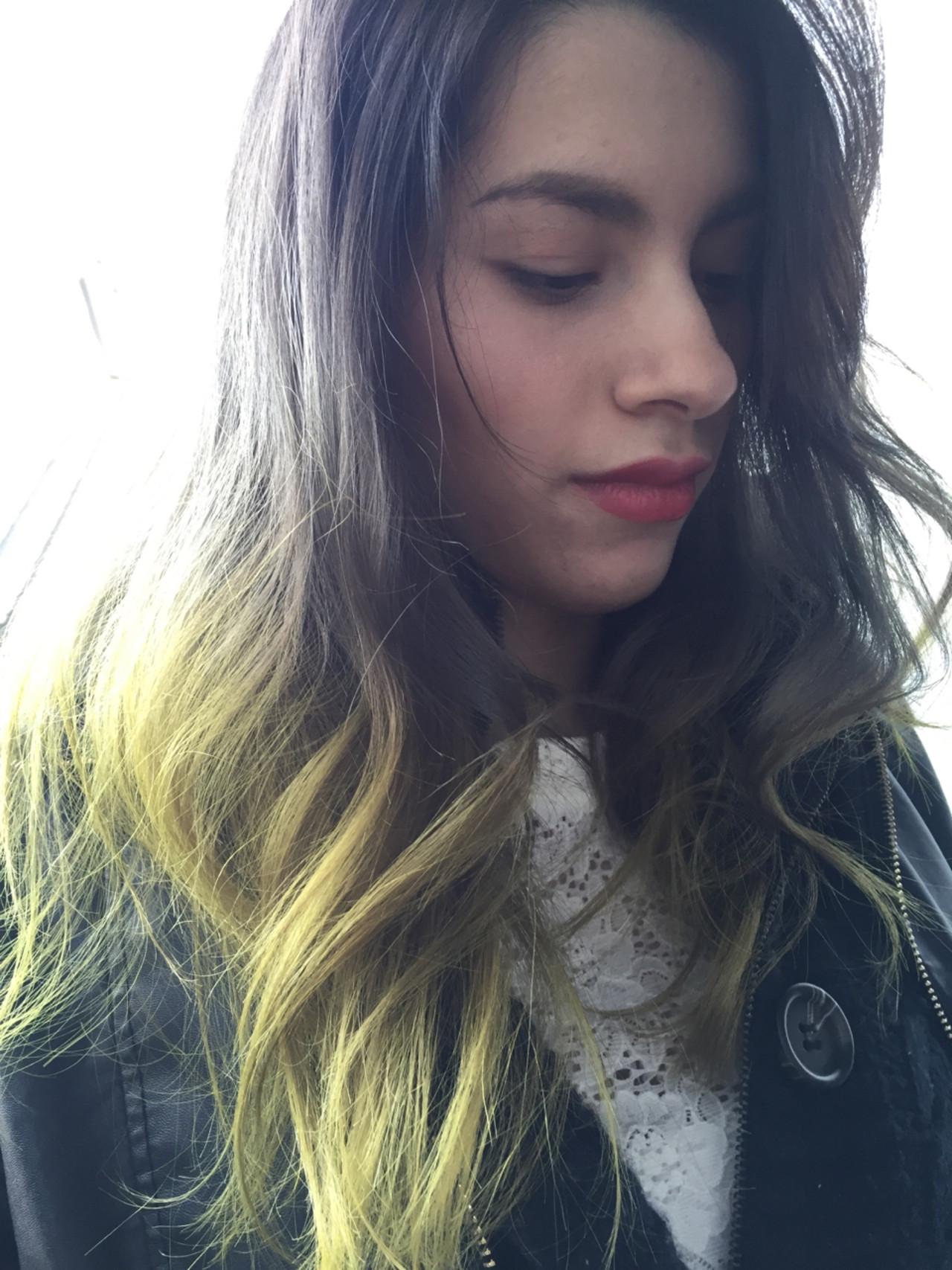外国人風 ストリート セミロング 透明感 ヘアスタイルや髪型の写真・画像 | C-ZONE FBeauty村山 武 / C-ZONE by FBeauty