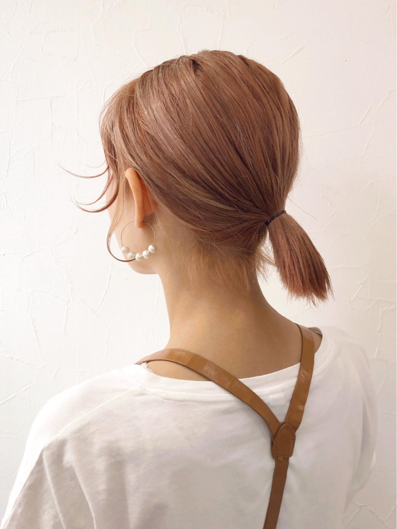 透明感 ミルクティー ミルクティーベージュ 女子力 ヘアスタイルや髪型の写真・画像