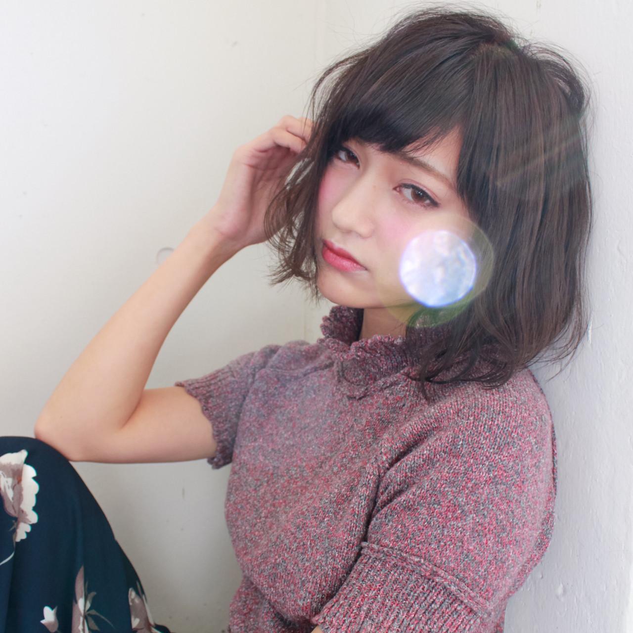 おフェロ 外国人風 ガーリー 前髪あり ヘアスタイルや髪型の写真・画像
