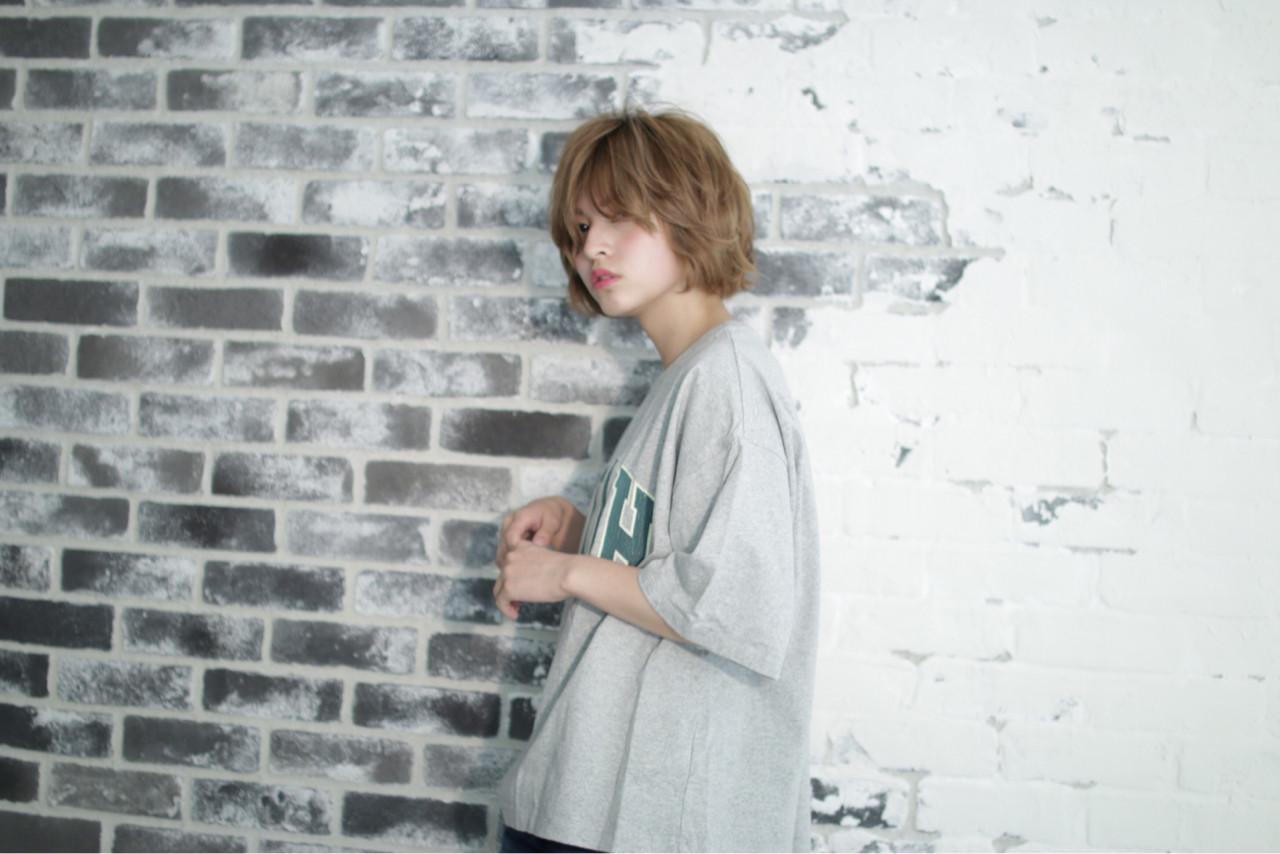 外国人風 ストリート ショート ヘアメイク ヘアスタイルや髪型の写真・画像