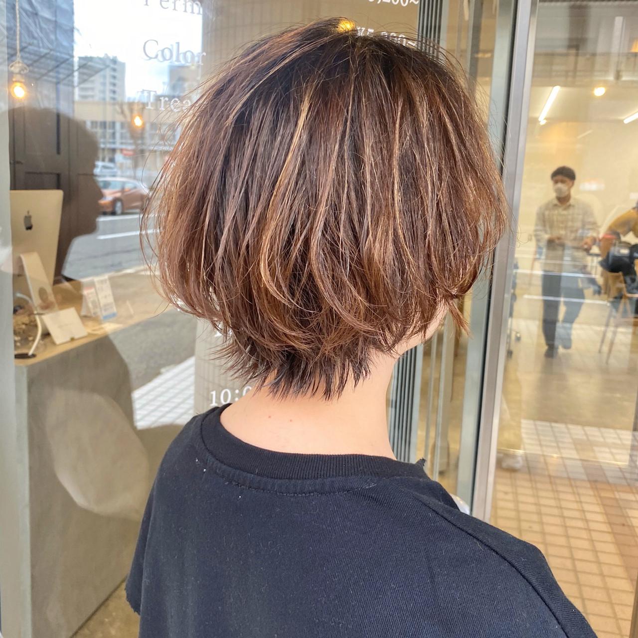 ショートヘア 大人かわいい ショート 大人ショート ヘアスタイルや髪型の写真・画像 | 【ショート&ショートボブはお任せください】淺川聖 / parc sapporo