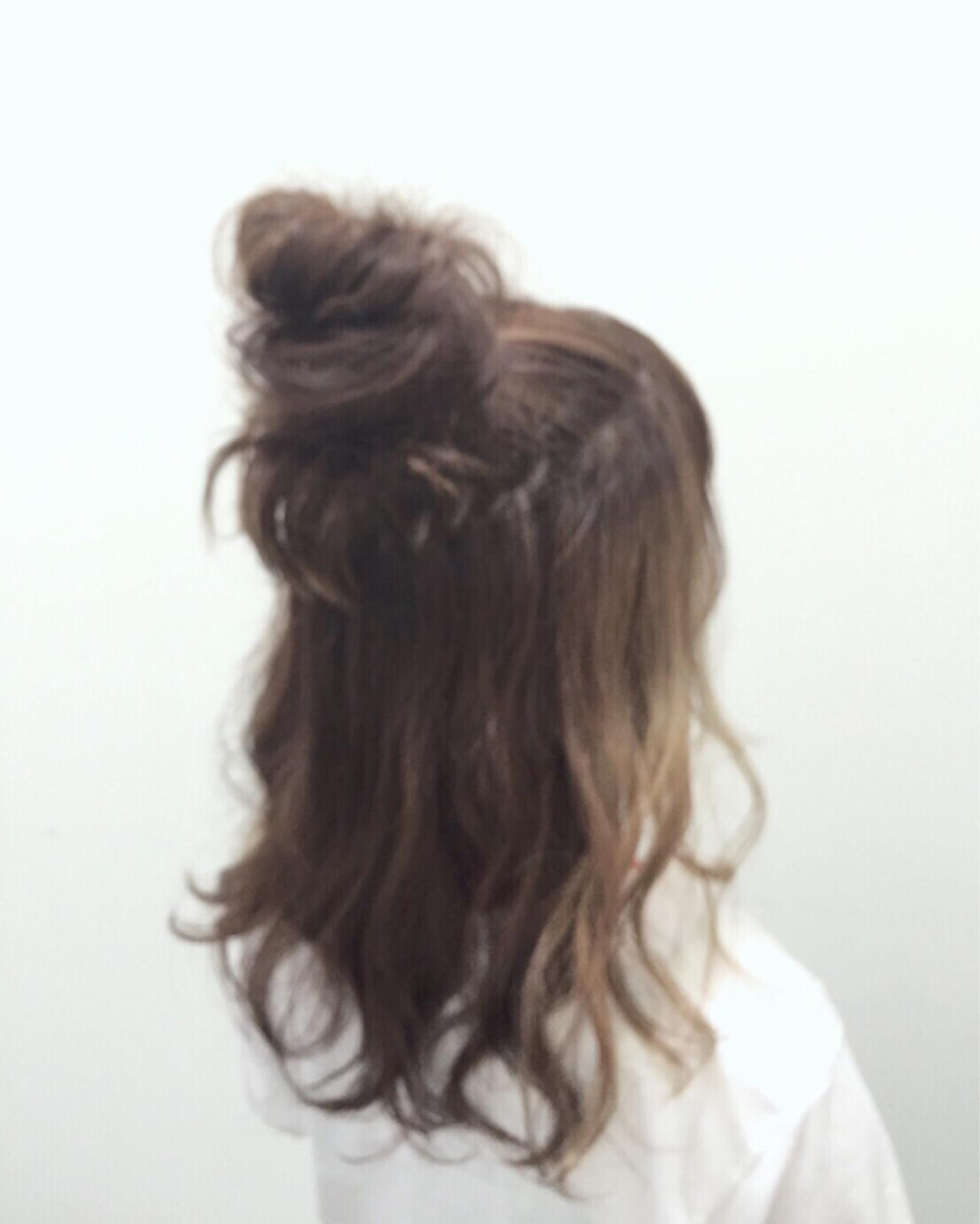 ガーリー ショート ミディアム ヘアアレンジ ヘアスタイルや髪型の写真・画像
