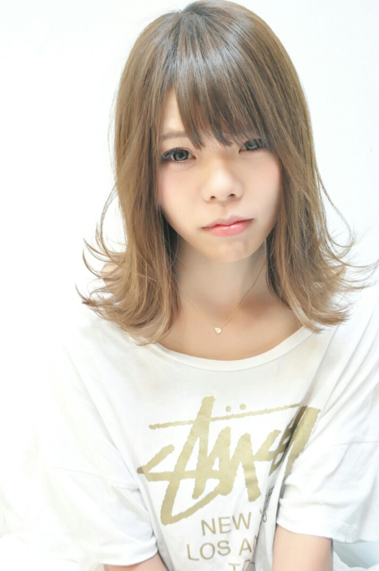 アッシュ ストリート ボブ 外国人風 ヘアスタイルや髪型の写真・画像 | 吉村升吾 / lotus hair works大日