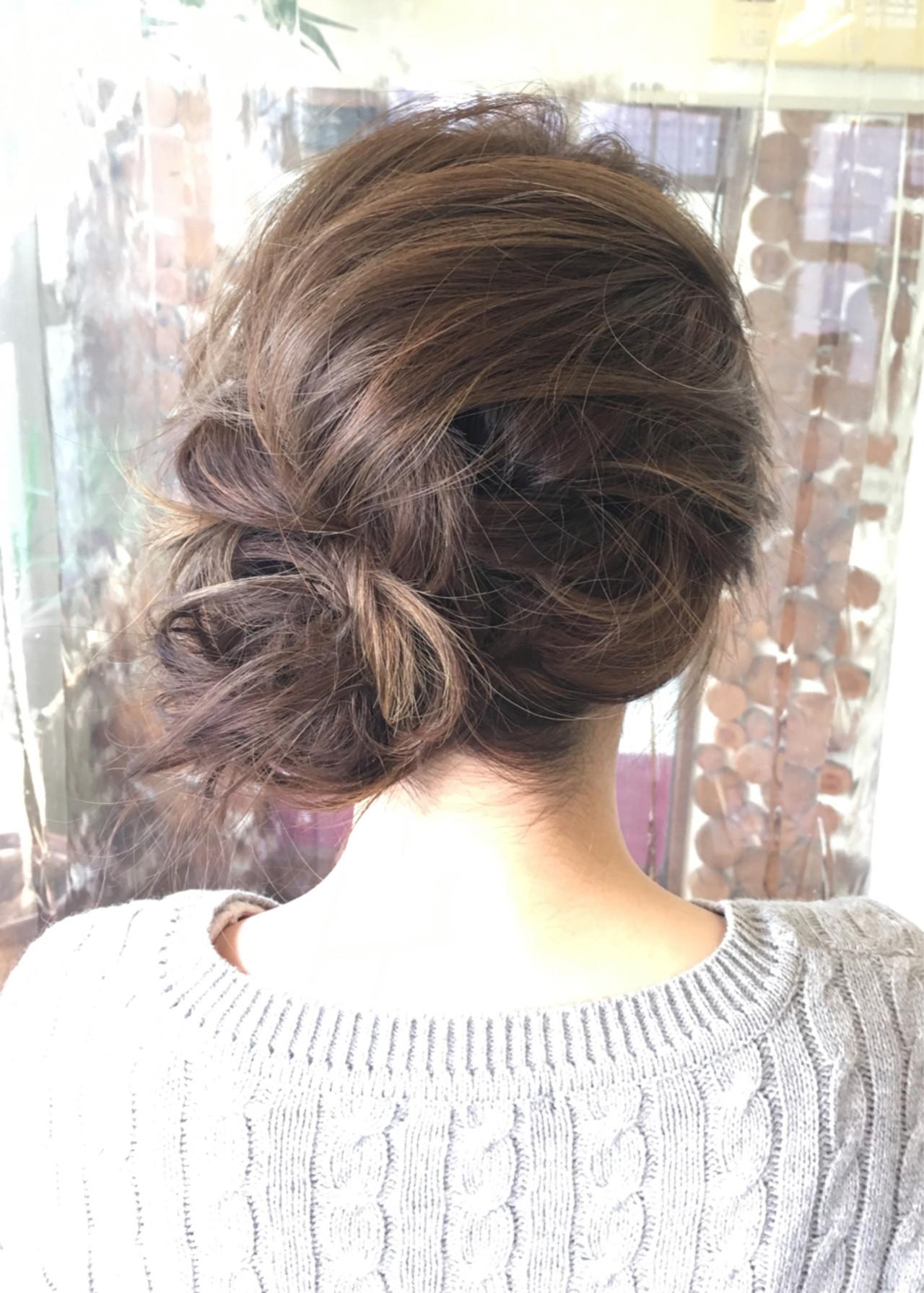 ハイライト メッシーバン ブルージュ 外国人風 ヘアスタイルや髪型の写真・画像