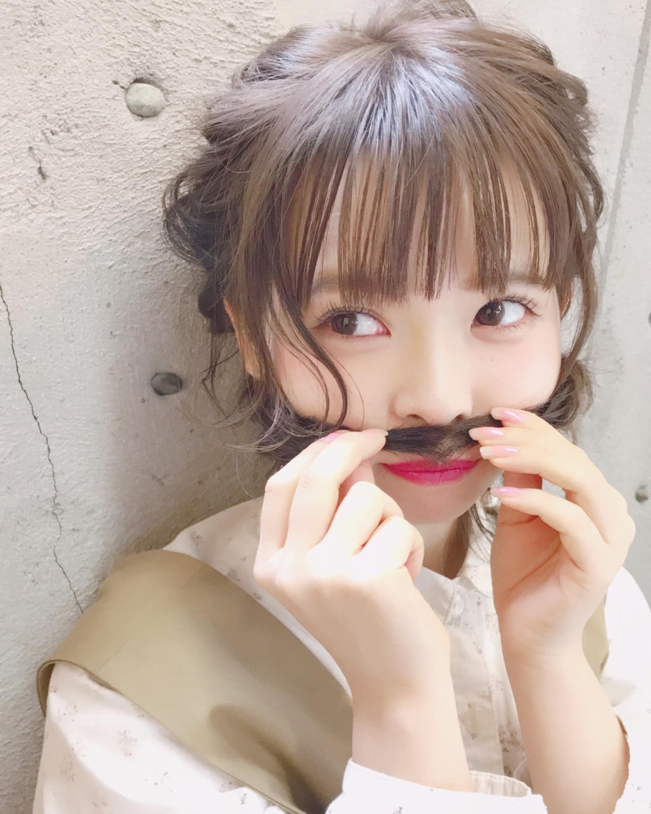 冬 デート ヘアアレンジ ミディアム ヘアスタイルや髪型の写真・画像 | Wataru Maeda / cache cache