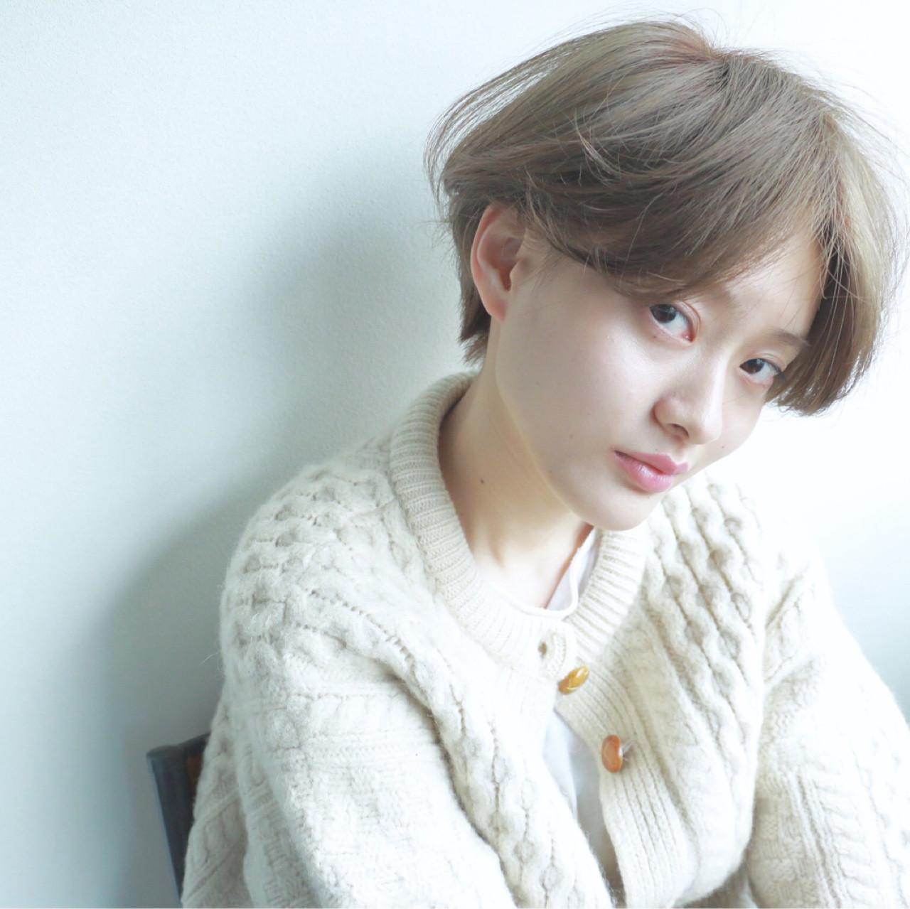 ダブルカラー ブリーチ ナチュラル 透明感 ヘアスタイルや髪型の写真・画像 | 高橋 忍 / nanuk渋谷店(ナヌーク)
