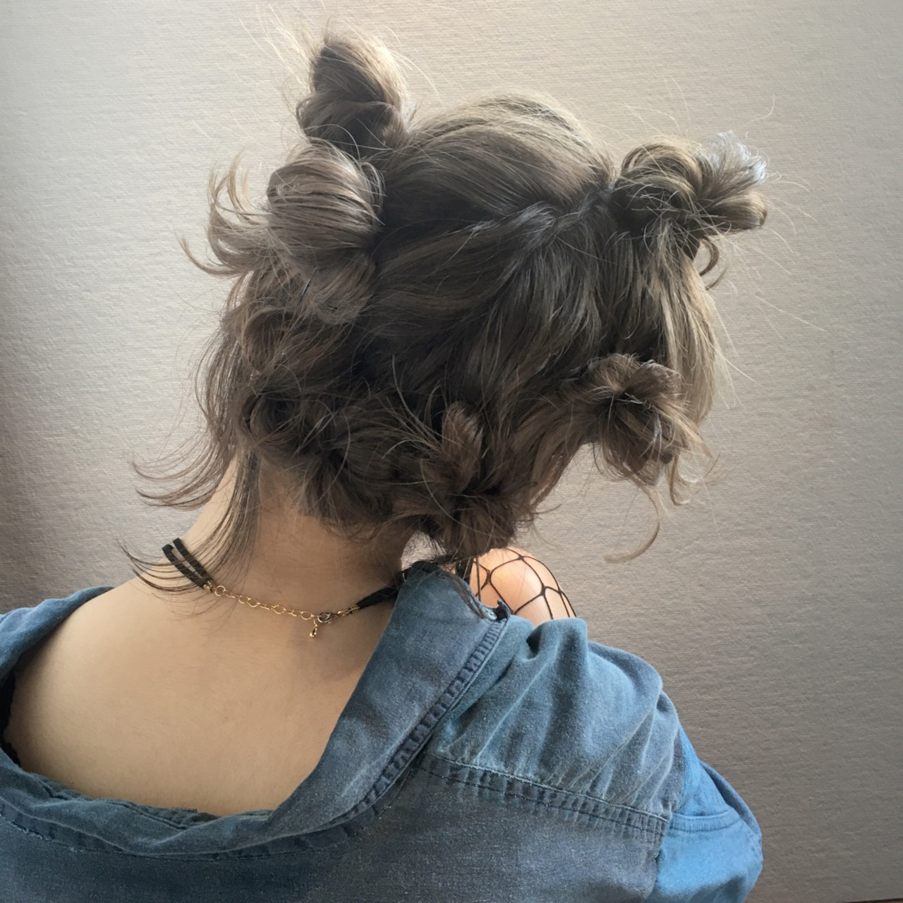フェミニン ボブ ヘアアレンジ 夏 ヘアスタイルや髪型の写真・画像