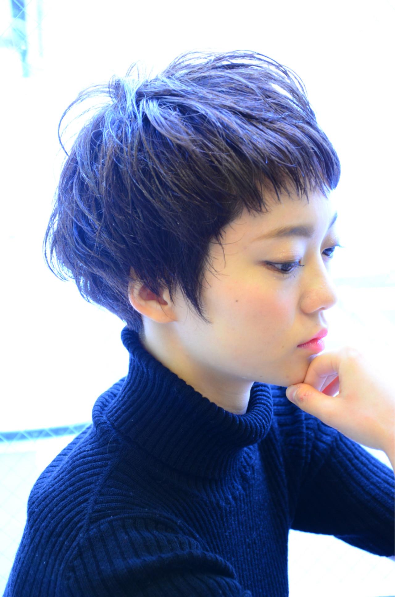 大人かわいい シースルーバング ウェットヘア ニュアンス ヘアスタイルや髪型の写真・画像