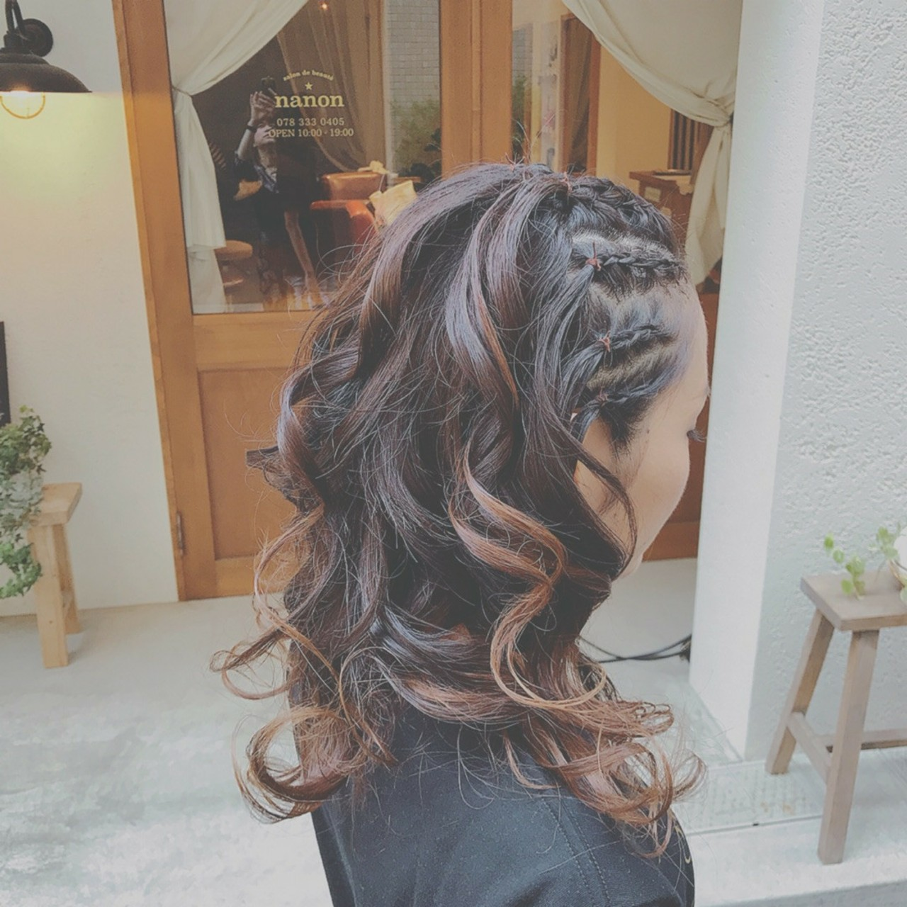 フェミニン ゆるふわ 大人かわいい デート ヘアスタイルや髪型の写真・画像 | 浦川由起江 / nanon