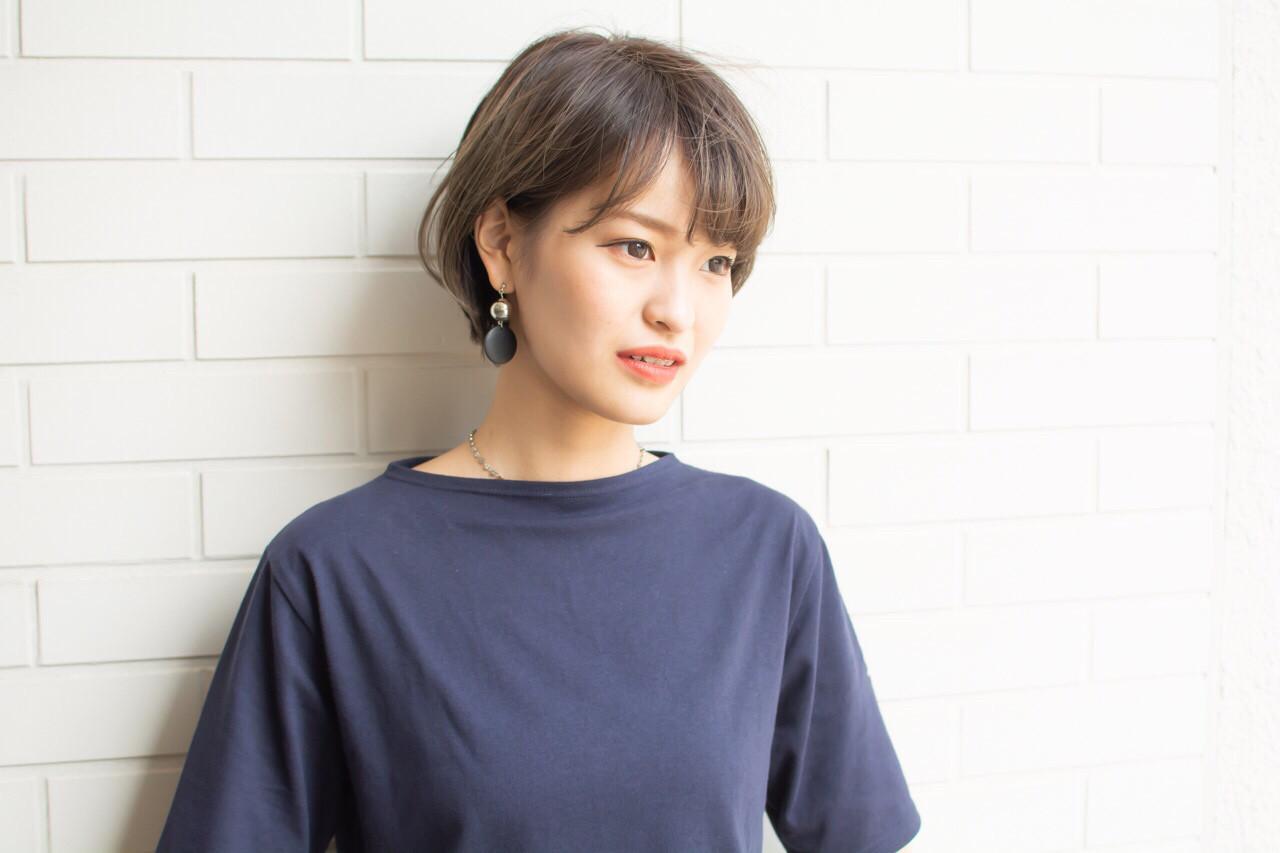 外国人風 色気 ショート 大人かわいい ヘアスタイルや髪型の写真・画像 | 【noine】斉藤 正敏 / noine