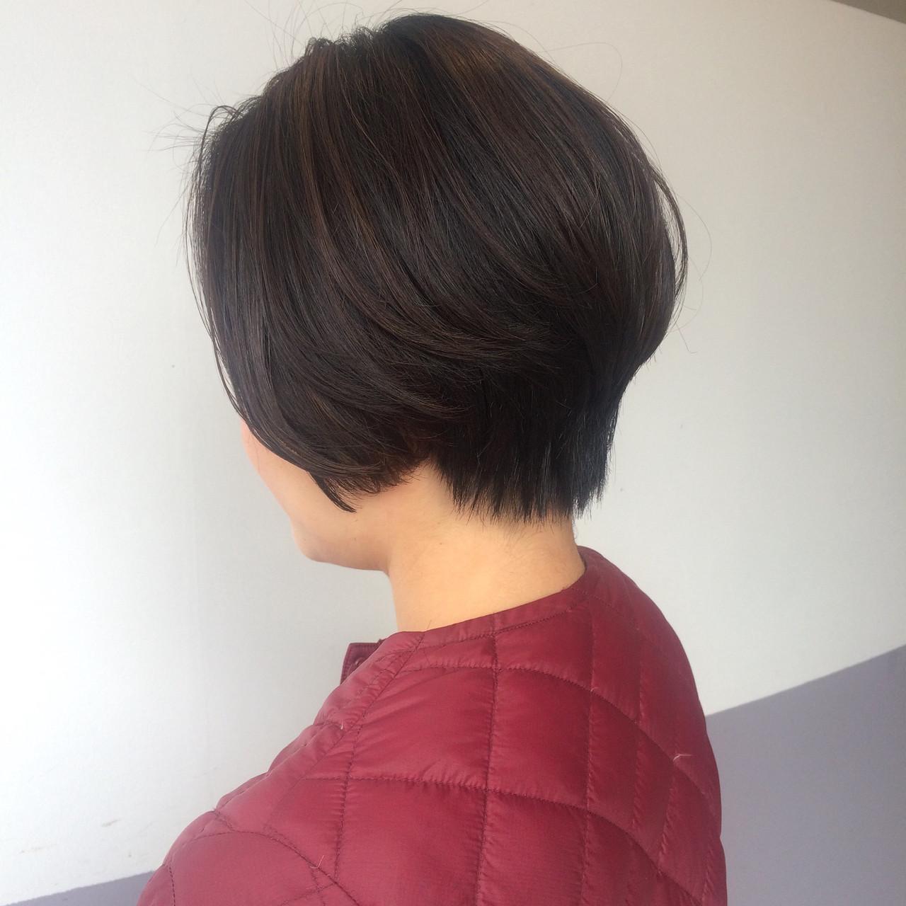 アンニュイほつれヘア ヘアアレンジ デート ショート ヘアスタイルや髪型の写真・画像 | マスダ トシエ / lafit
