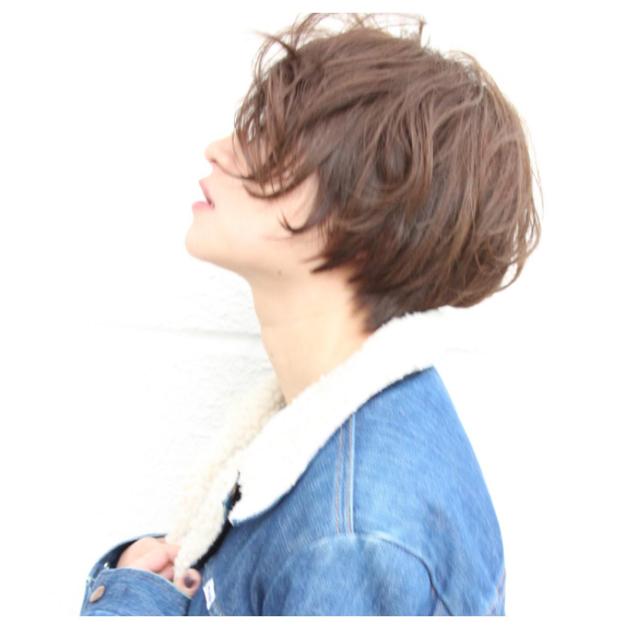 こなれ感 ショート ストリート 大人女子 ヘアスタイルや髪型の写真・画像 | Masanori Yamasaki / Reuna(レウナ)