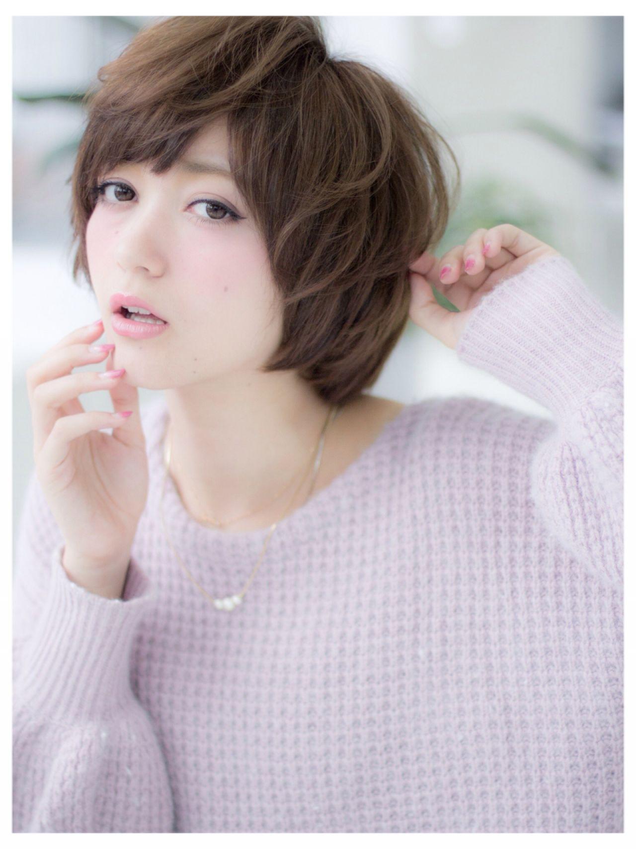 コンサバ 秋 モテ髪 愛され ヘアスタイルや髪型の写真・画像
