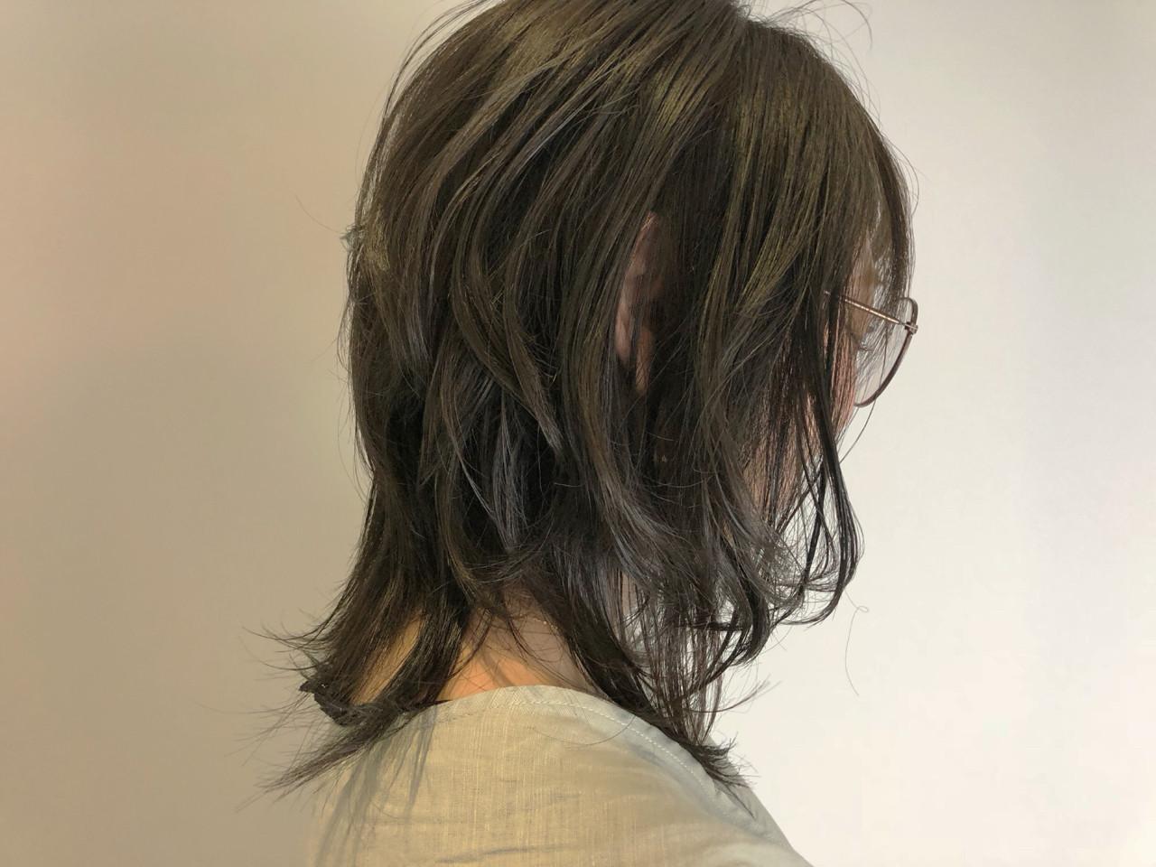 外ハネ ナチュラル 透明感 ゆるふわ ヘアスタイルや髪型の写真・画像