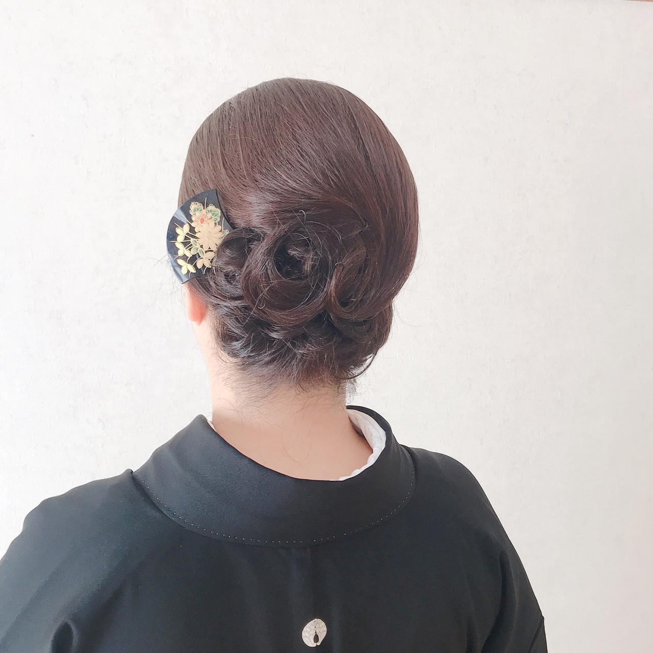 黒留袖 和装 着物 和服|福岡天神ヘアセット・着付け専門店