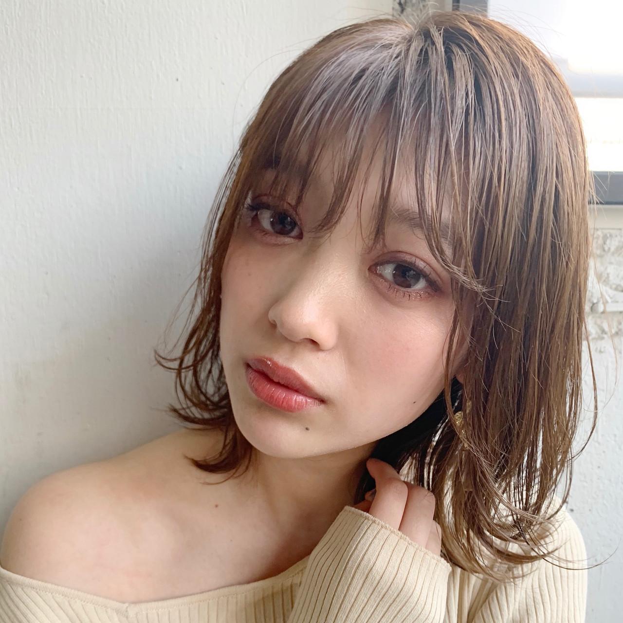 大人ミディアム 鎖骨ミディアム ミディアム ミディアムレイヤー ヘアスタイルや髪型の写真・画像 | Natsuko Kodama 児玉奈都子 / dydi