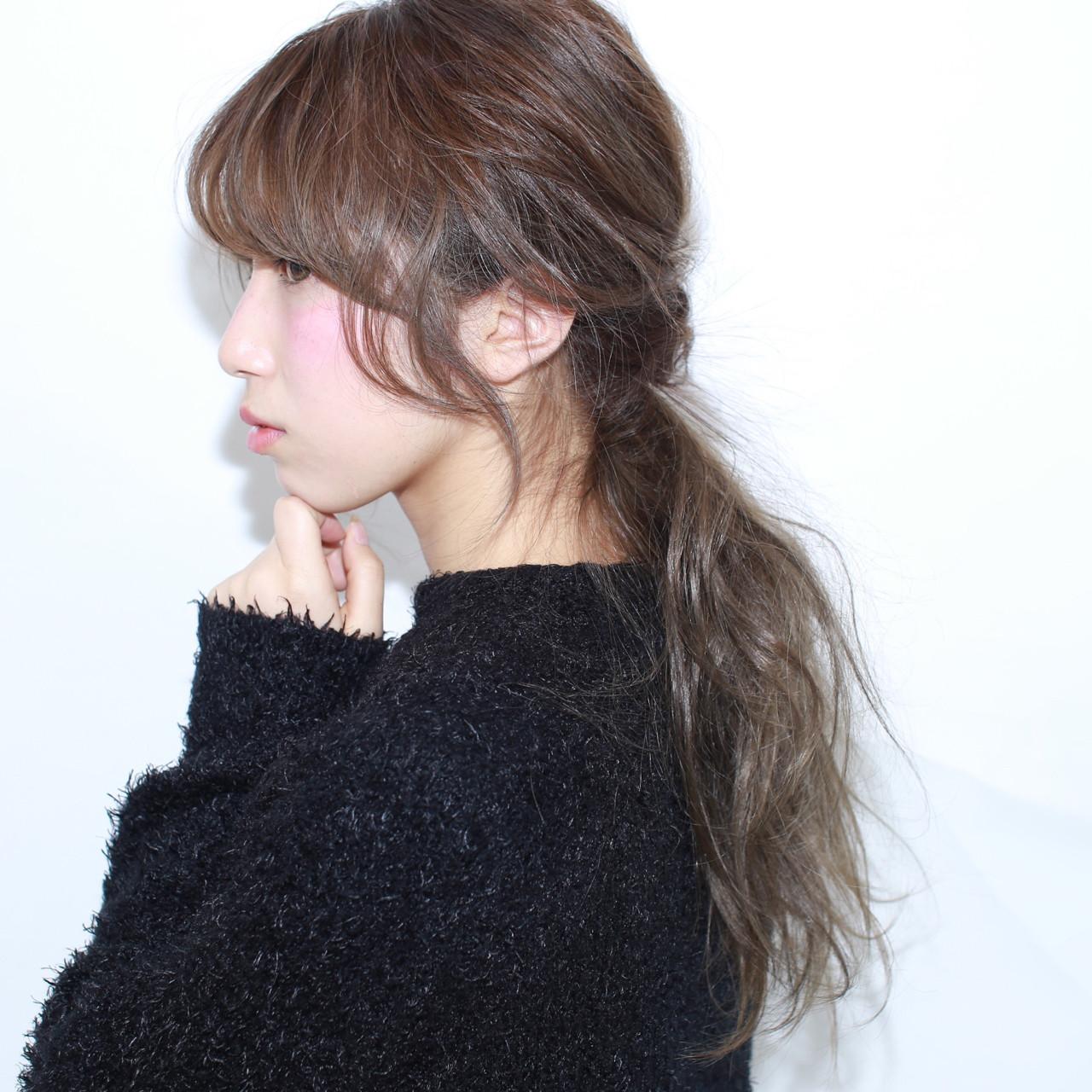 ヘアアレンジ 外国人風 ショート ロング ヘアスタイルや髪型の写真・画像 | イマムラ スナオ / LUKE