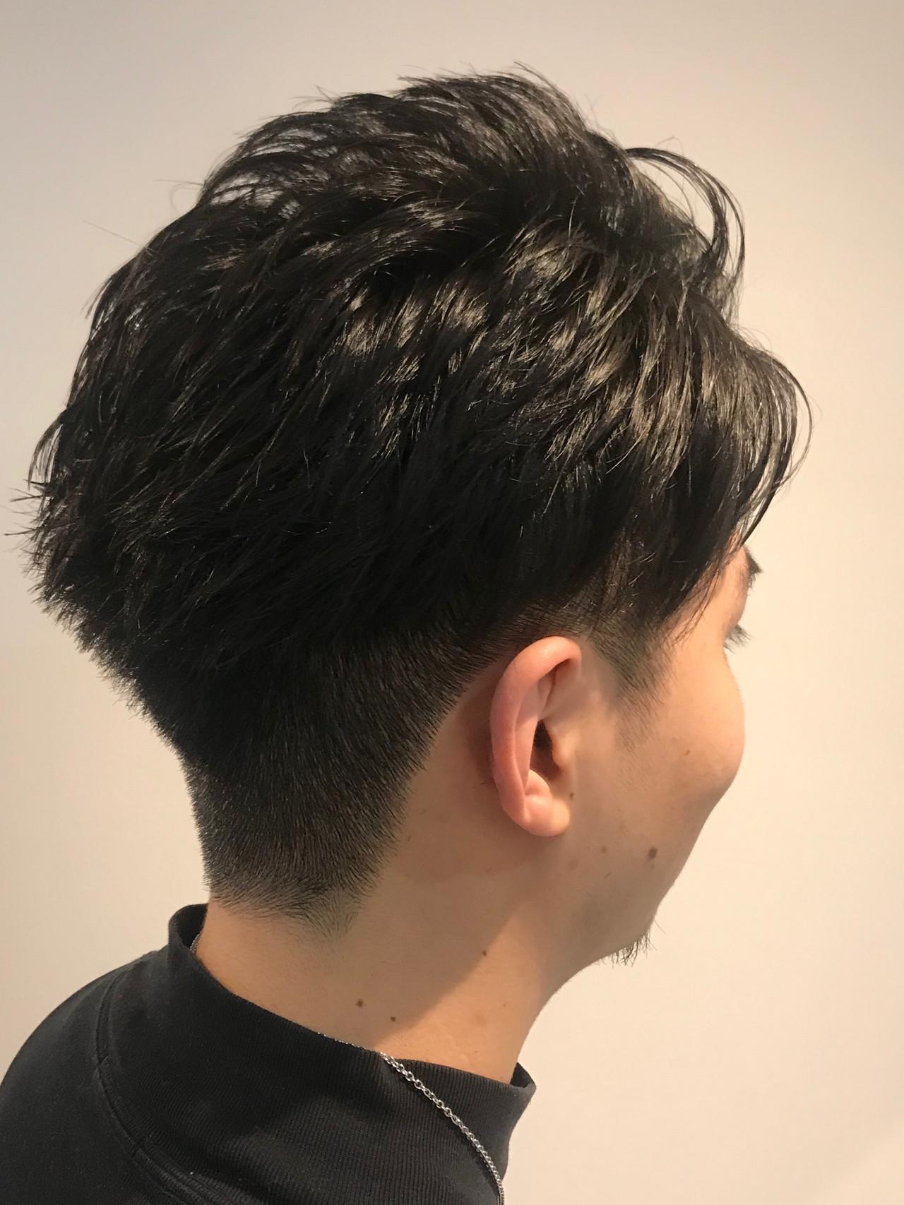 ストリート メンズ メンズカット 刈り上げ ヘアスタイルや髪型の写真・画像   神 里奈 / Zina新宿店