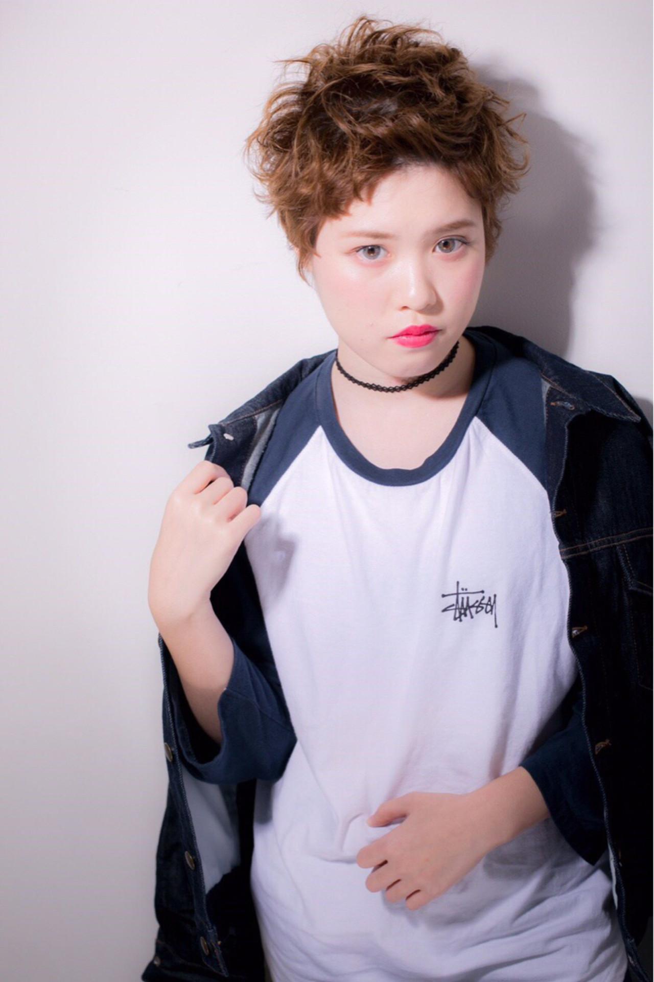 モード 大人かわいい 外国人風 ストリート ヘアスタイルや髪型の写真・画像