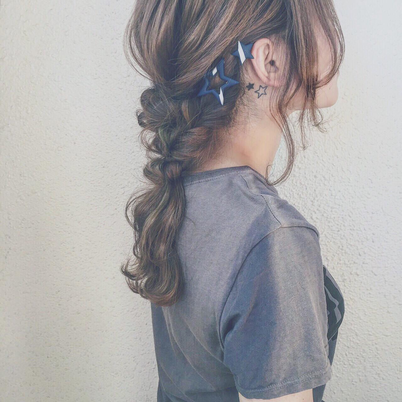インナーカラー かっこいい ストリート 外国人風 ヘアスタイルや髪型の写真・画像