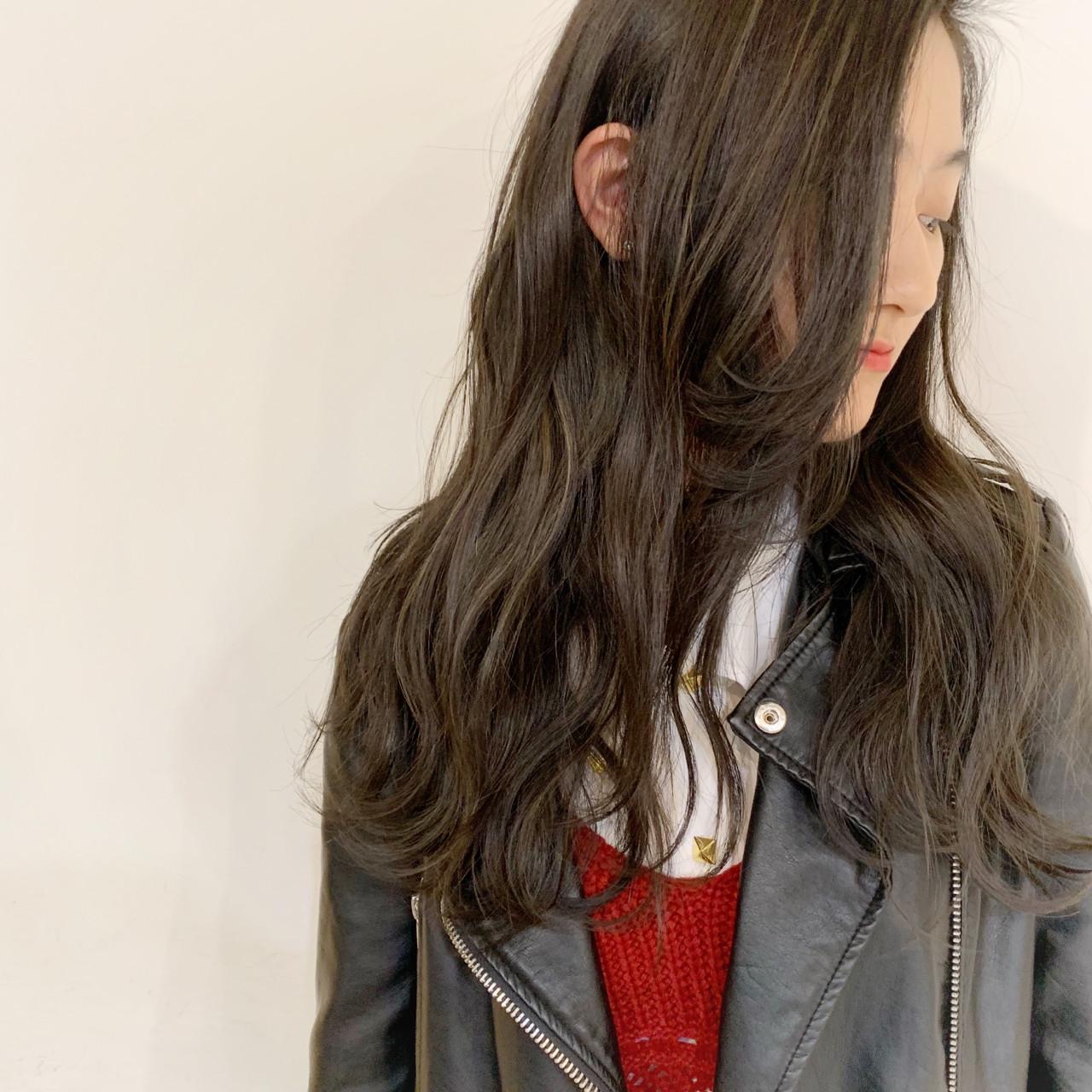 秋 ストリート ゆるふわ ロング ヘアスタイルや髪型の写真・画像 | ボブ/ミディアム/ACQUA表参道古本慶次 / ACQUA表参道