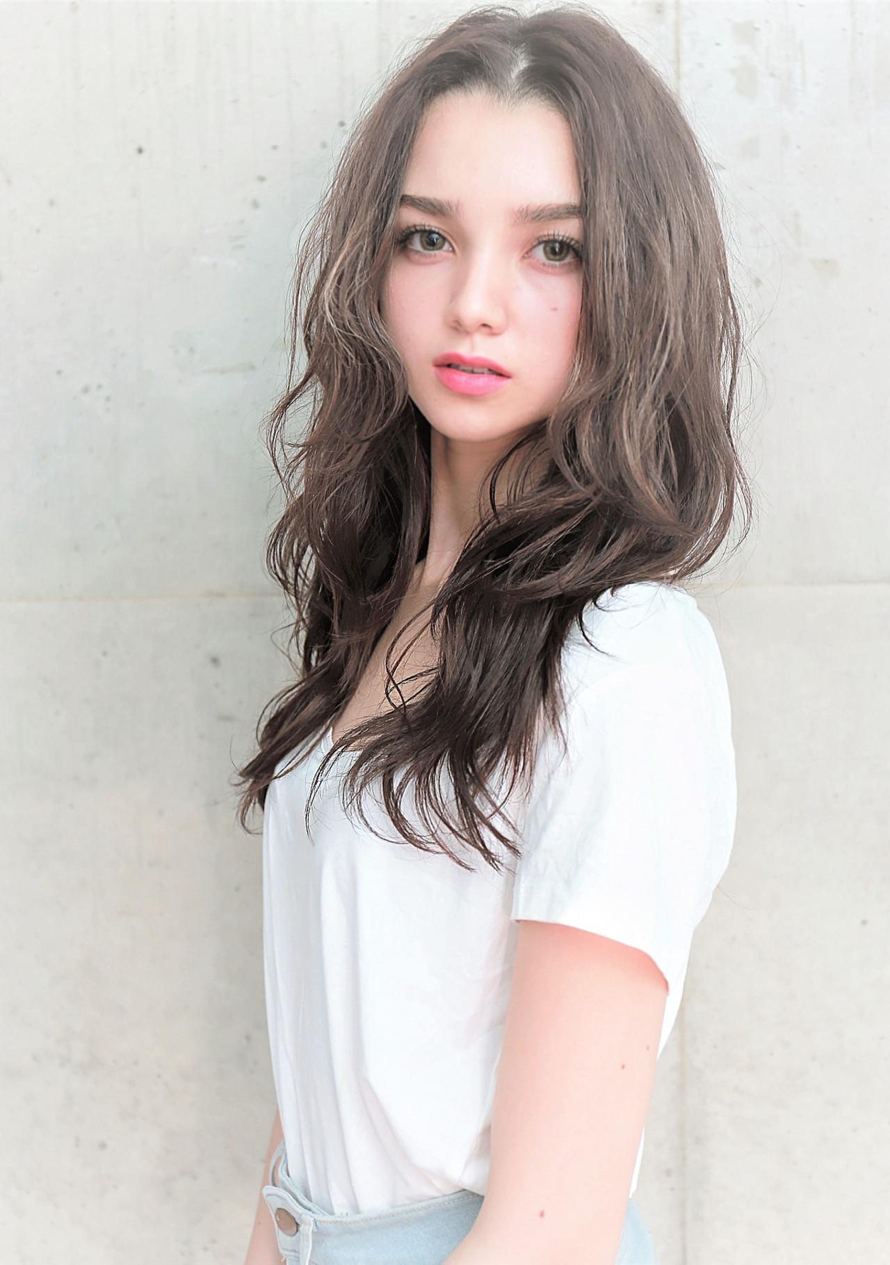 冬 アンニュイほつれヘア ストリート モテ髪 ヘアスタイルや髪型の写真・画像