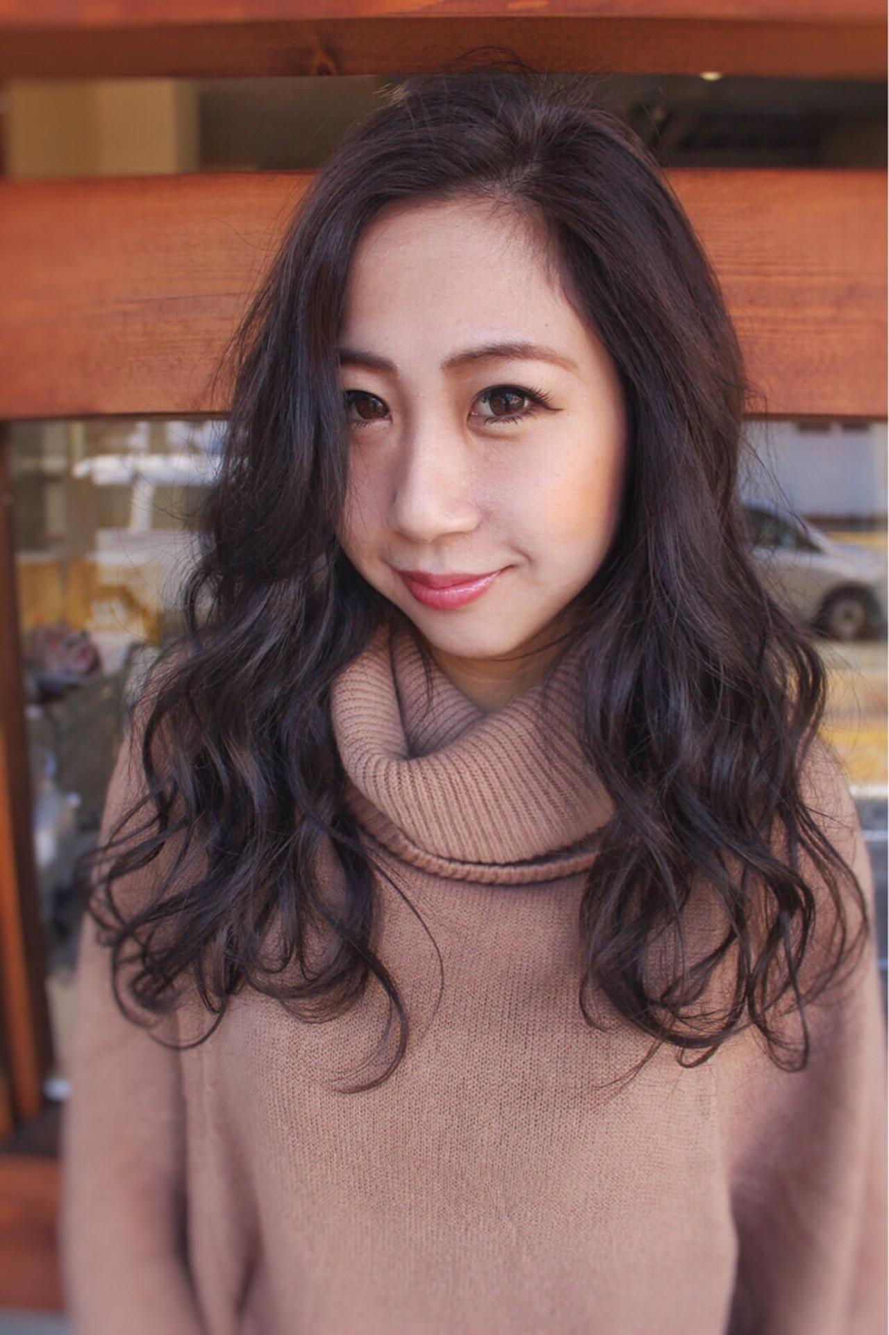 ナチュラル 暗髪 外国人風カラー 大人女子 ヘアスタイルや髪型の写真・画像 | サワ / Seamu