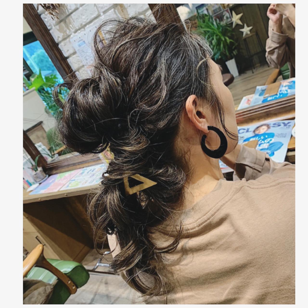 大人ハイライト ハイライト コントラストハイライト ヘアアレンジ ヘアスタイルや髪型の写真・画像   平井 潮里/ENTRAIDE / ENTRAIDE  hair design studio
