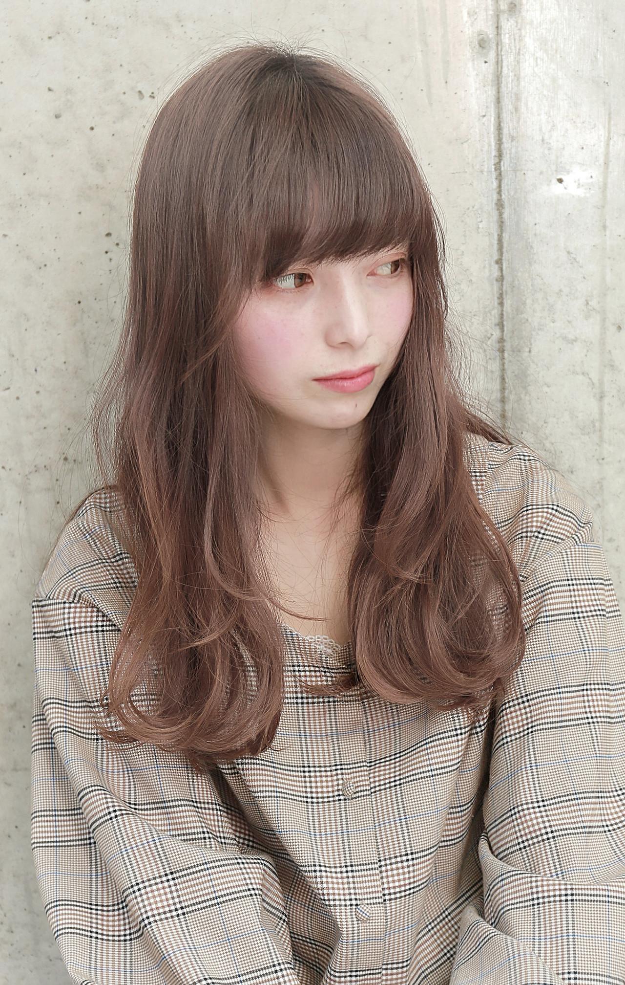 モテ髪 透明感 秋 ロング ヘアスタイルや髪型の写真・画像