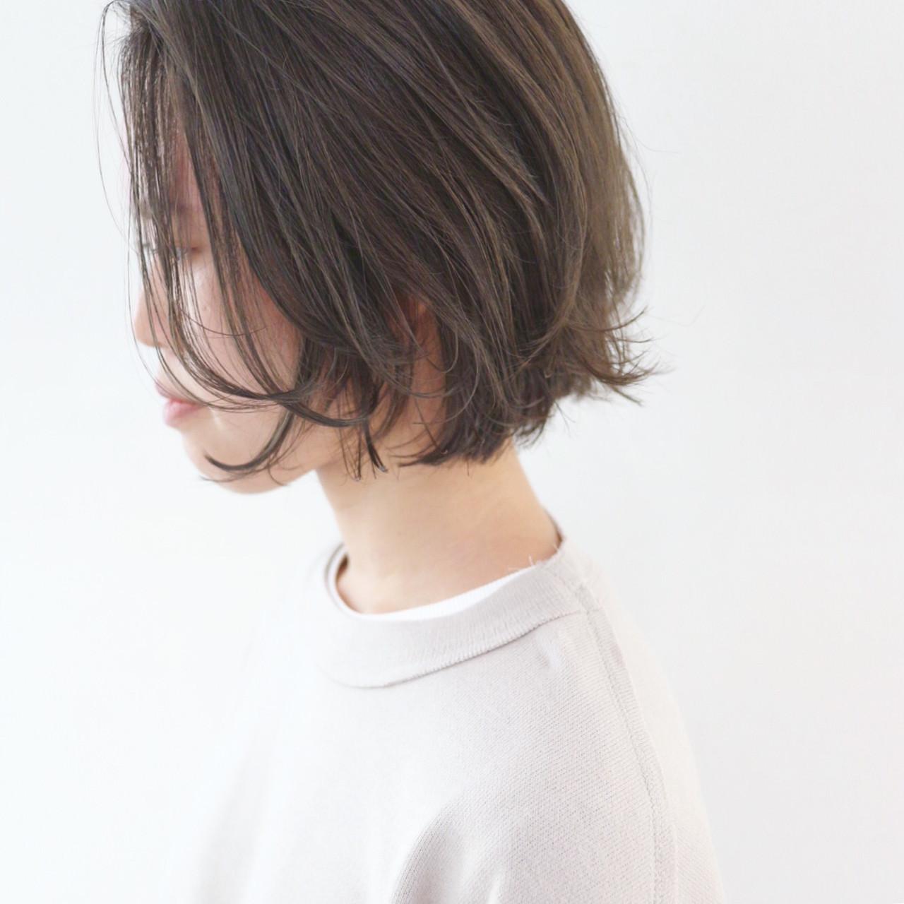 アッシュ ストリート ブルージュ グレージュ ヘアスタイルや髪型の写真・画像