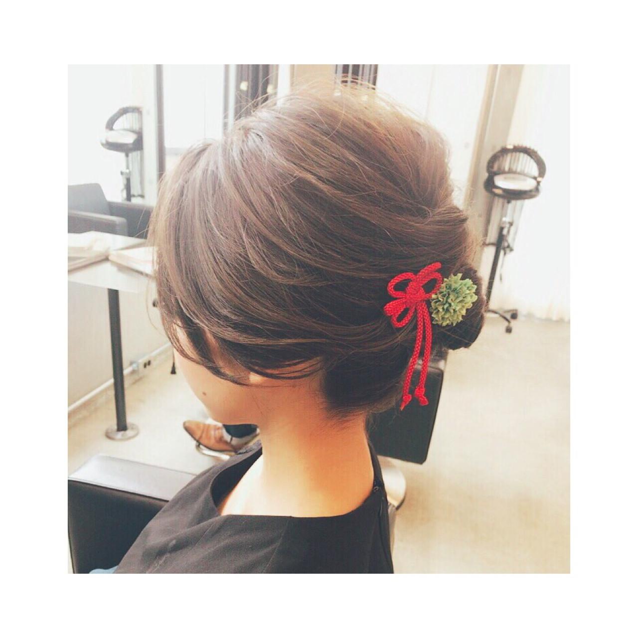 夏 お祭り 花火大会 上品 ヘアスタイルや髪型の写真・画像