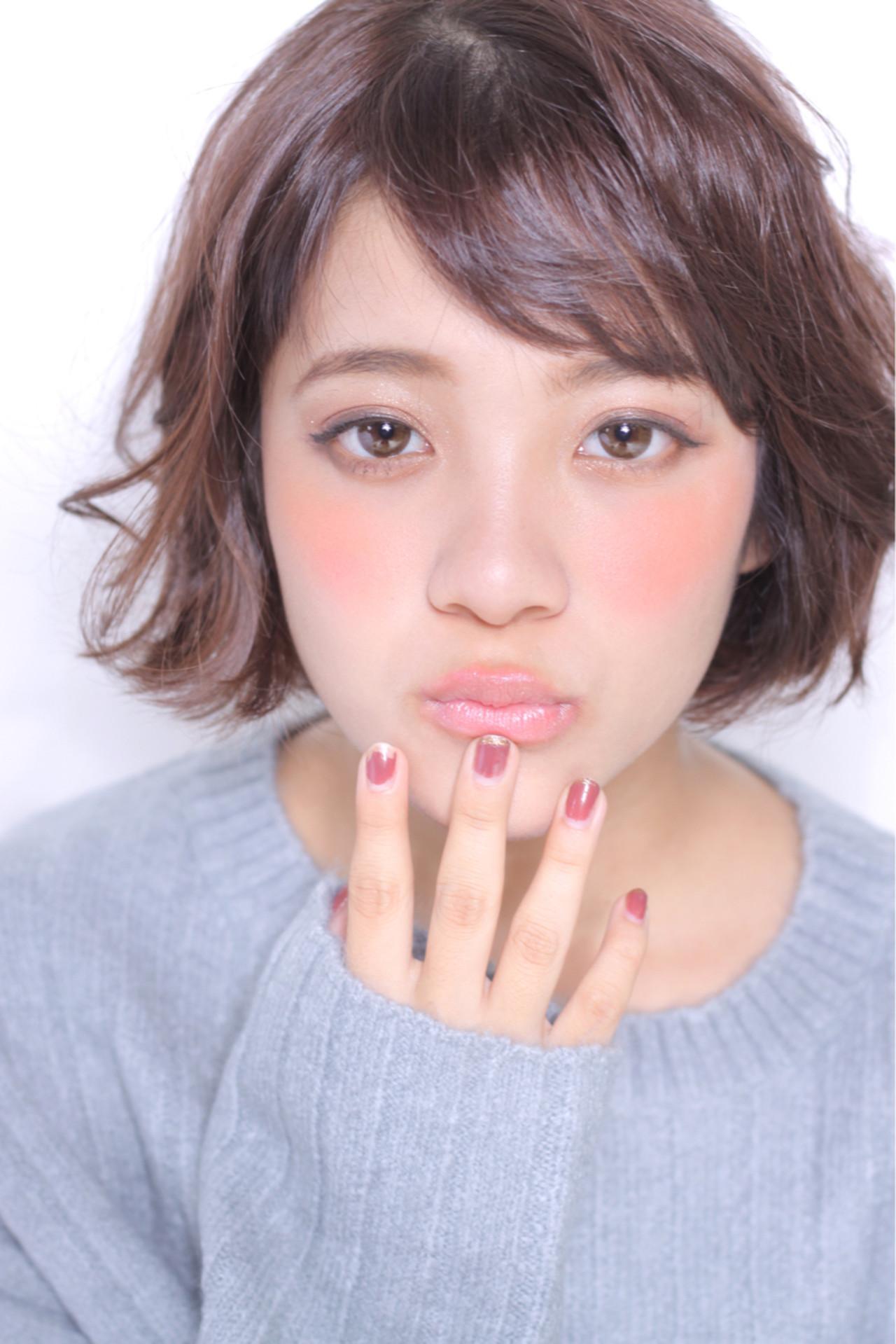 ナチュラル ピュア ショート モテ髪 ヘアスタイルや髪型の写真・画像   Masayuki Seto / PROS:旭商店街店