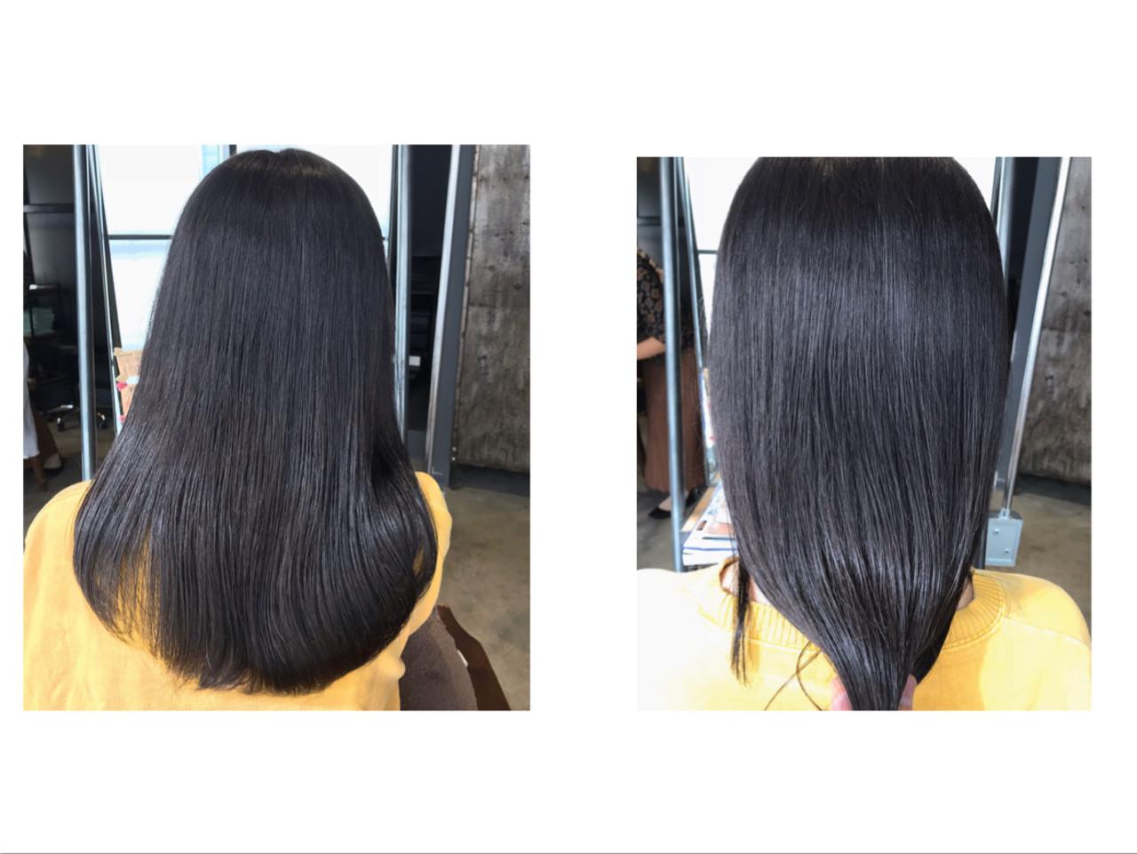 秋冬スタイル ナチュラル 透明感カラー oggiotto ヘアスタイルや髪型の写真・画像