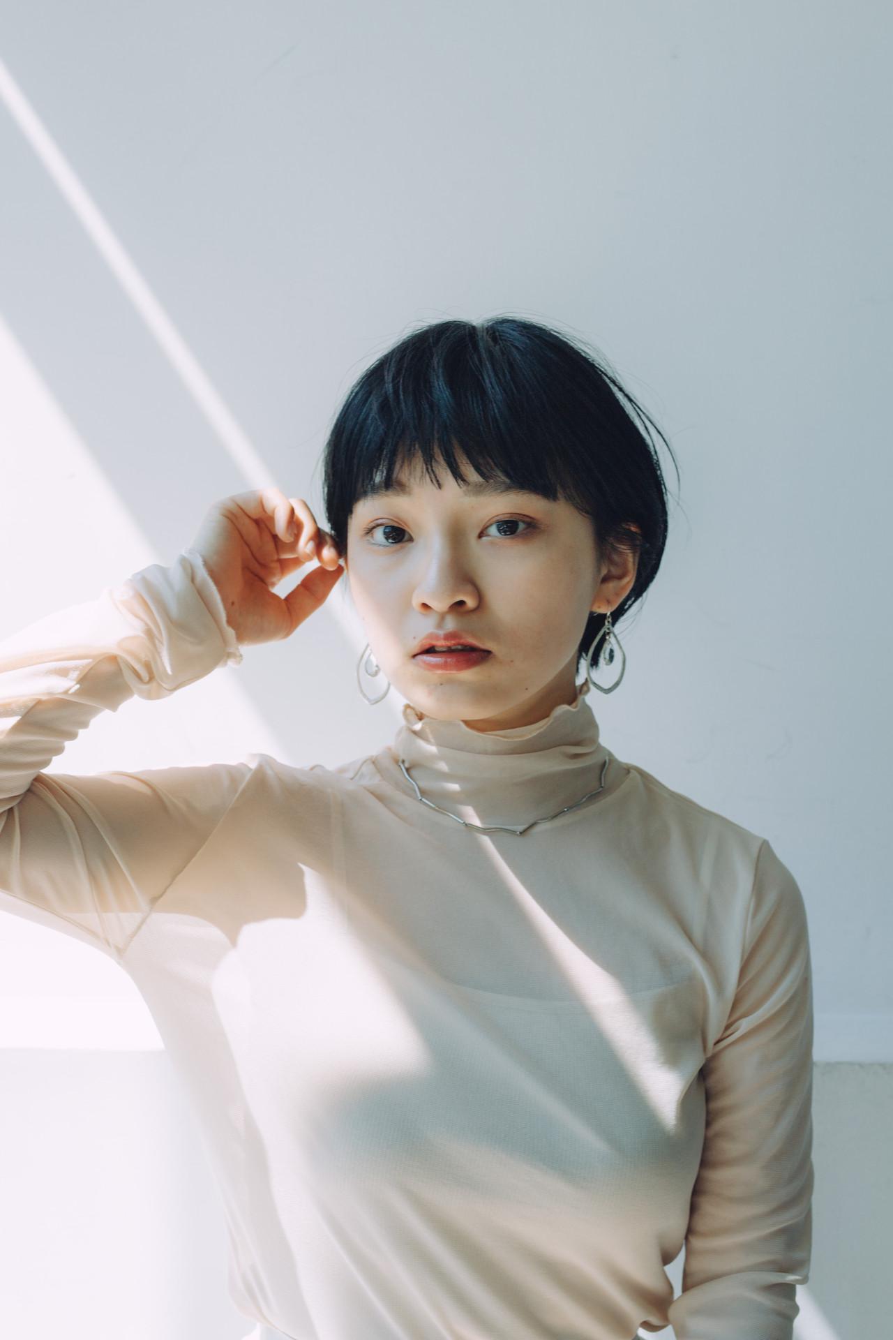 ナチュラル ショートボブ ハンサムショート ショートヘア ヘアスタイルや髪型の写真・画像 | 児玉善央 / GARDEN harajuku