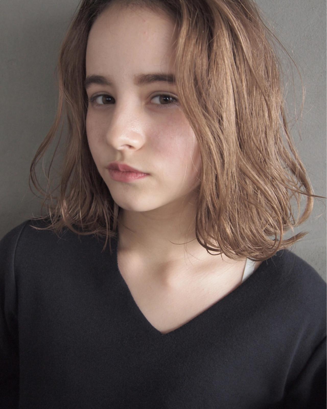 大人女子 パーマ こなれ感 ニュアンス ヘアスタイルや髪型の写真・画像 | UEKI/nanuk / nanuk二子玉川