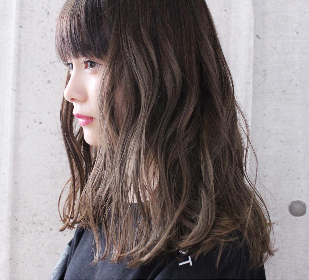 透明感 大人かわいい 愛され 外国人風 ヘアスタイルや髪型の写真・画像 | 上田智久 / ooit 福岡 天神 / ooit