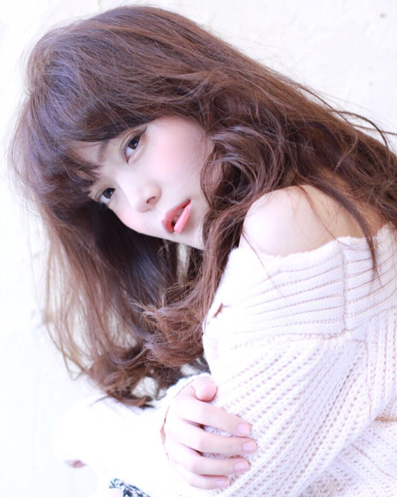 コンサバ ゆるふわ 外国人風 ロング ヘアスタイルや髪型の写真・画像 | 山田 あかり /