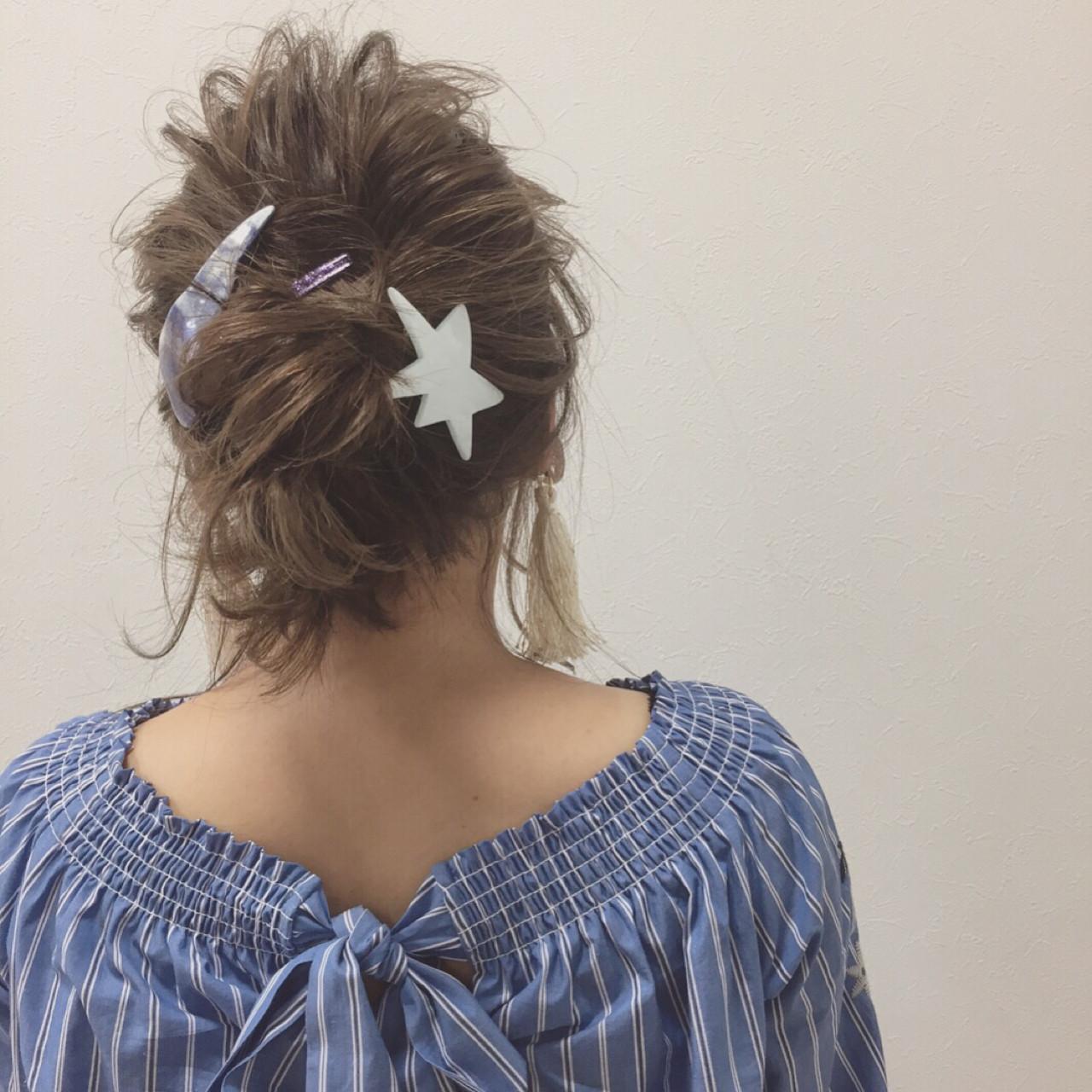 色気 涼しげ ミディアム 夏 ヘアスタイルや髪型の写真・画像