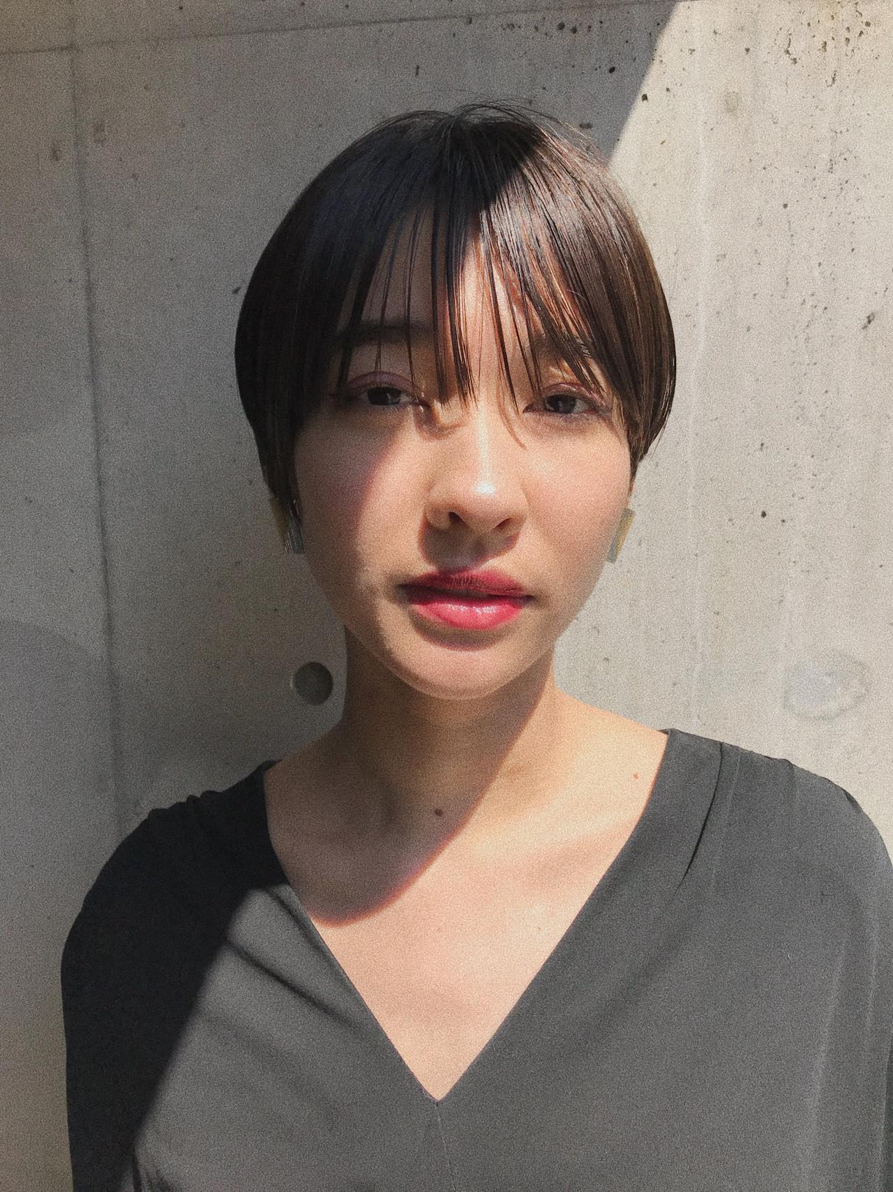 刈り上げ 抜け感 刈り上げ女子 モード ヘアスタイルや髪型の写真・画像 | 小西敬二郎 / Heartim