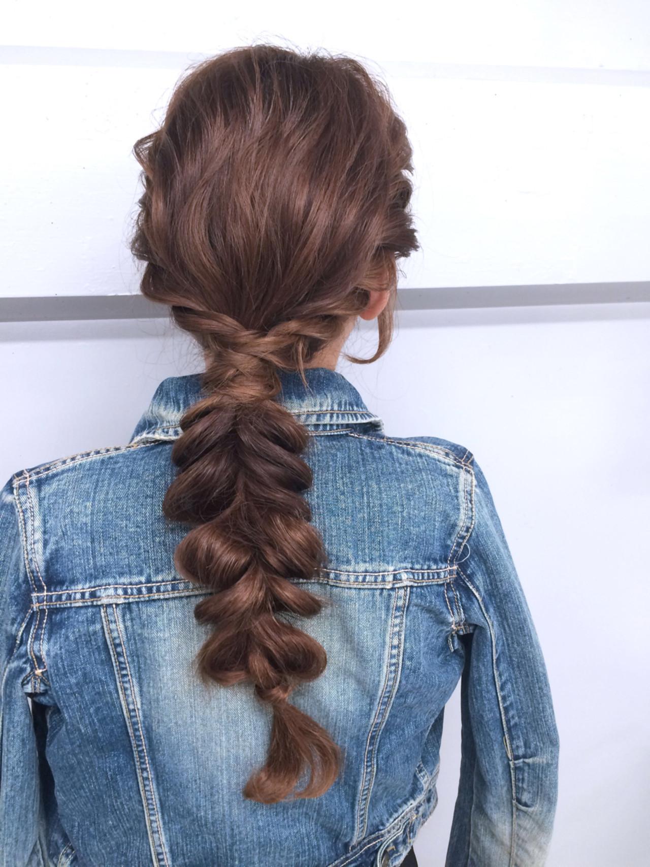 ハーフアップ ロング ショート 夏 ヘアスタイルや髪型の写真・画像