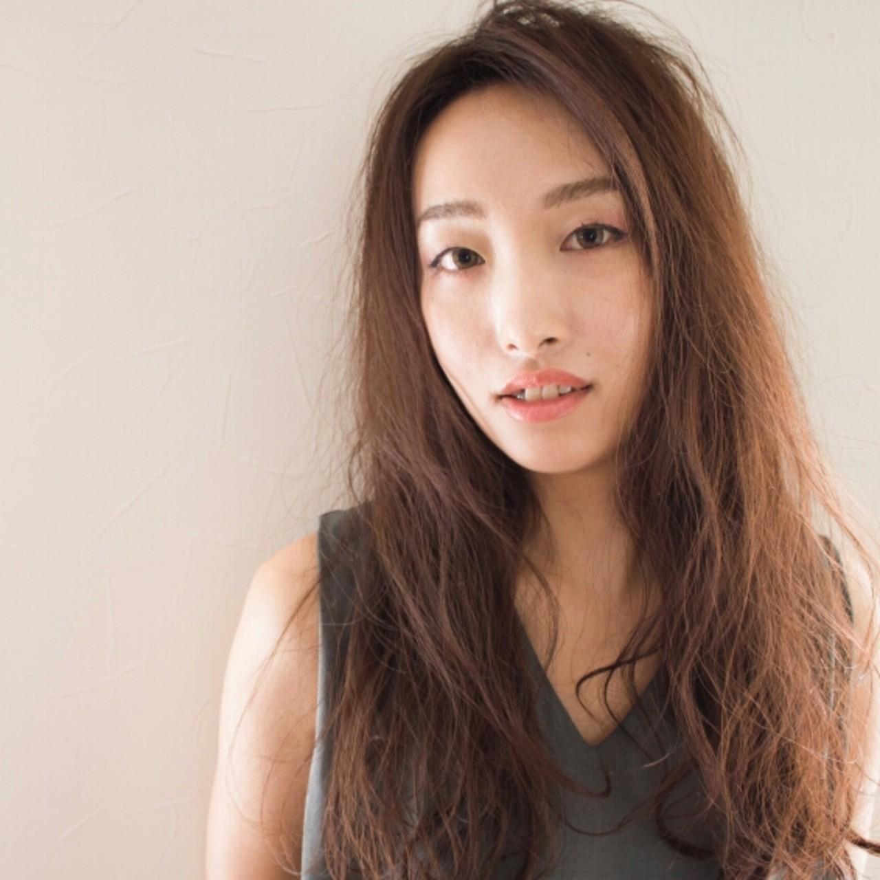 大人かわいい 外国人風 ナチュラル 抜け感 ヘアスタイルや髪型の写真・画像