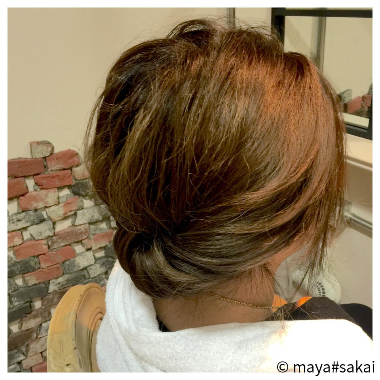 くせ毛風 ショート ヘアアレンジ 大人かわいい ヘアスタイルや髪型の写真・画像