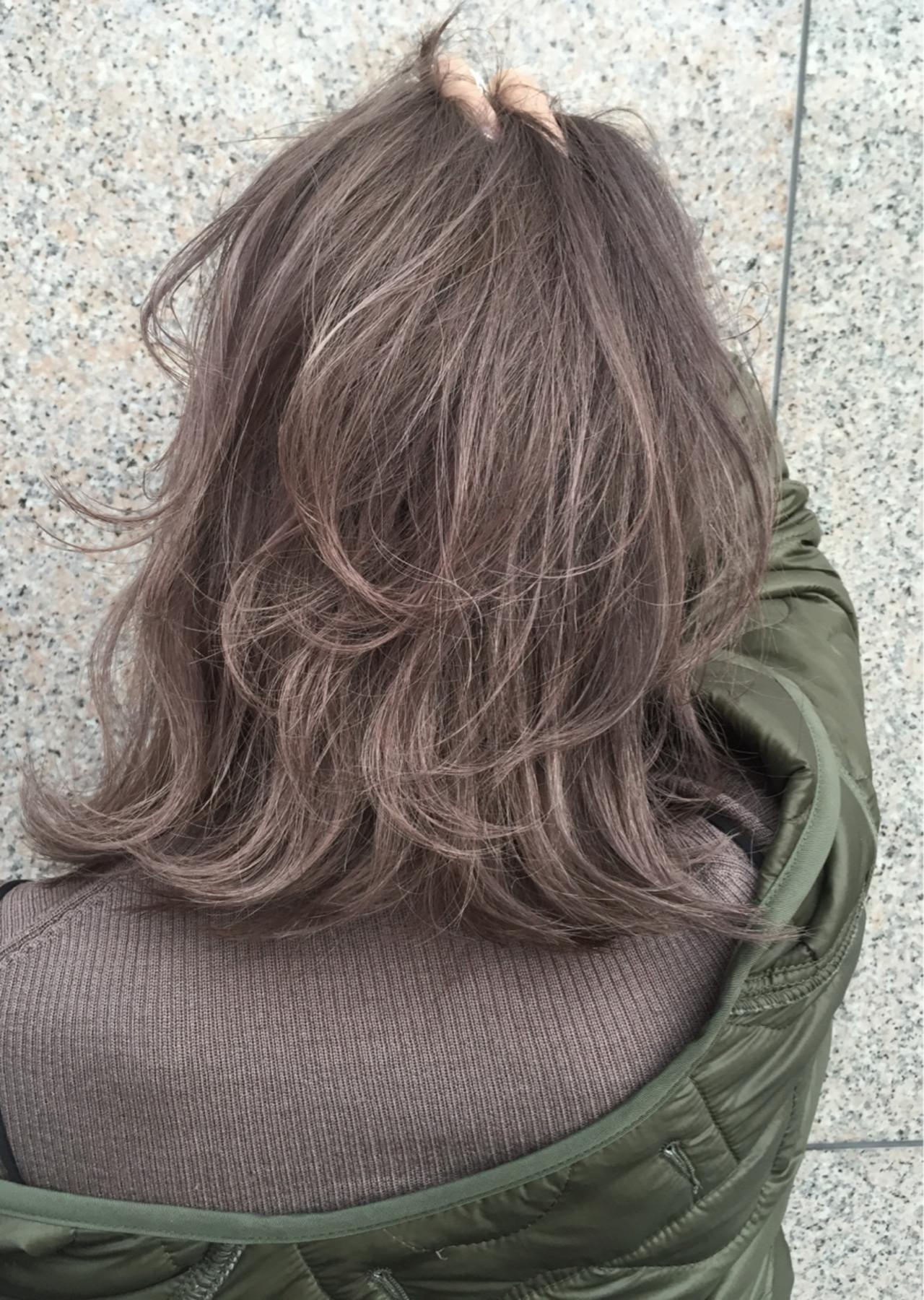 ハイライト 外国人風カラー アッシュ ストリート ヘアスタイルや髪型の写真・画像 | ALT 森田 正浩 / ALT