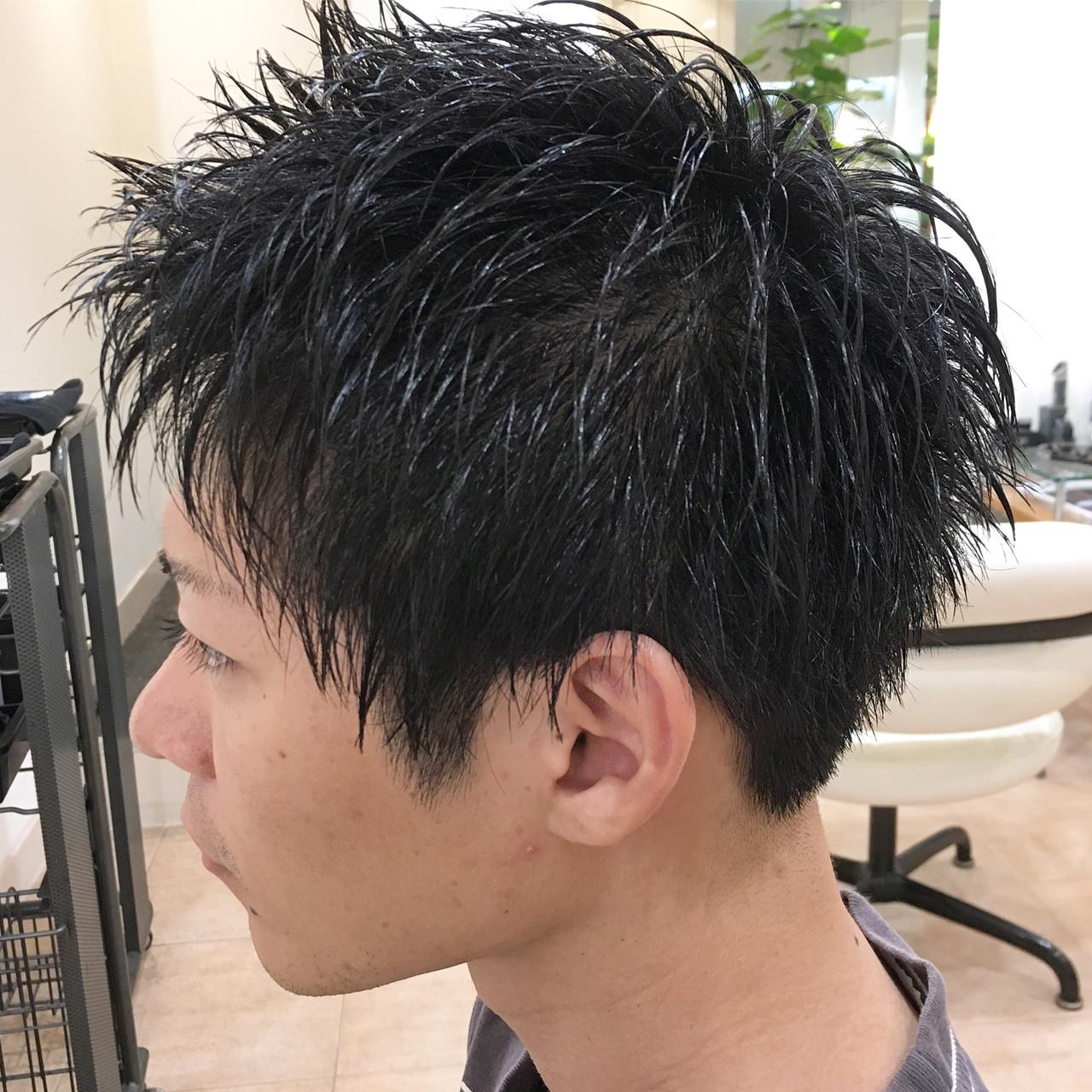 メンズカット ストリート メンズ ツーブロック ヘアスタイルや髪型の写真・画像