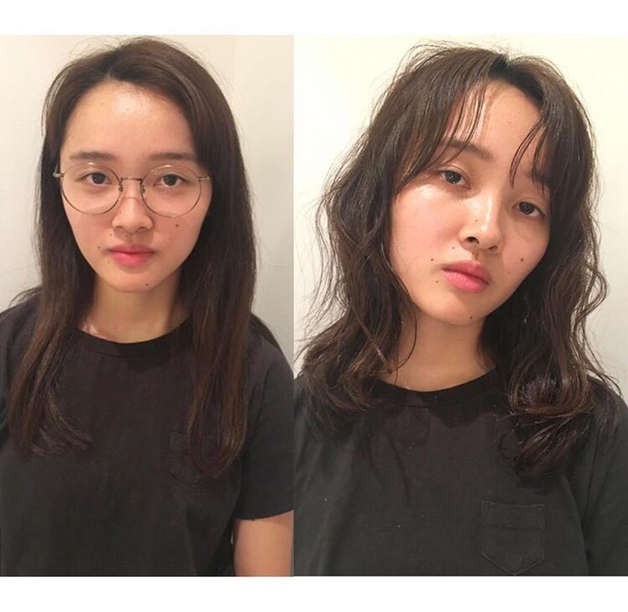 ナチュラル パーマ 抜け感 ウェットヘア ヘアスタイルや髪型の写真・画像 | Yousuke Yamaura / vetica