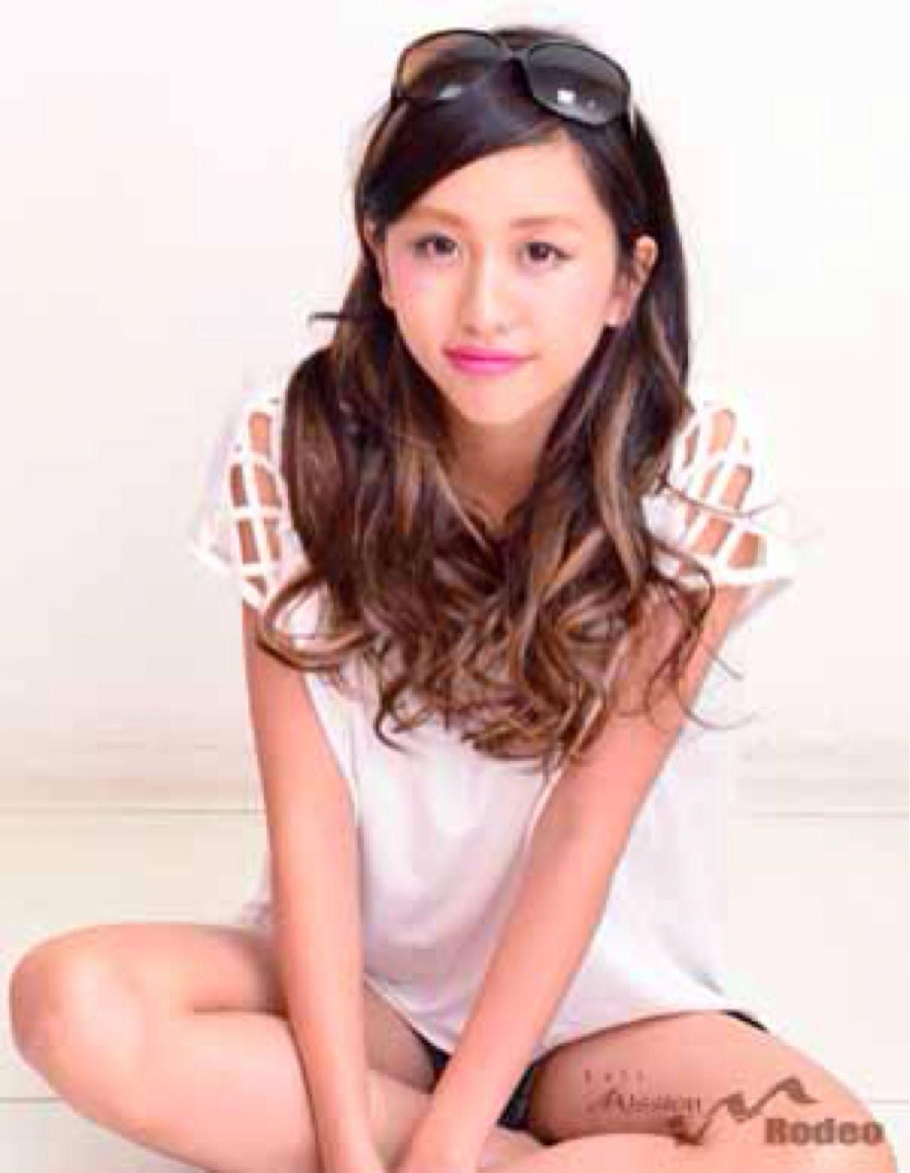 ガーリー モテ髪 ロング 秋 ヘアスタイルや髪型の写真・画像