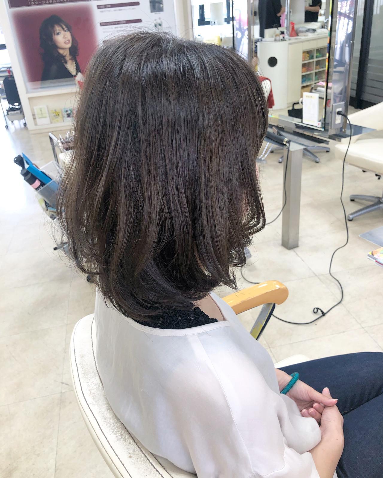 グラデーションカラー ダメージレス ナチュラル 簡単ヘアアレンジ ヘアスタイルや髪型の写真・画像   奥野 和広 / TERRACE LUXBE