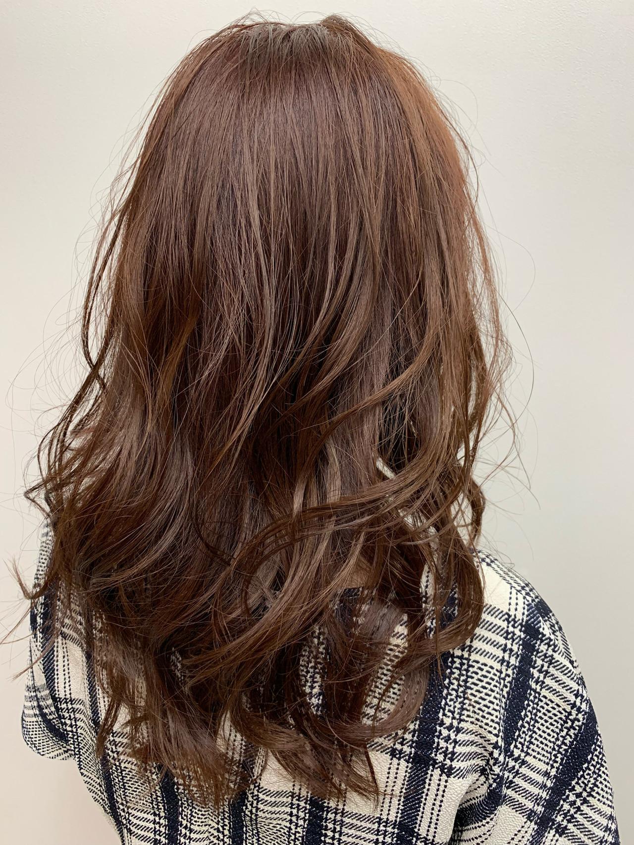 大人かわいい イルミナカラー ナチュラル 外国人風カラー ヘアスタイルや髪型の写真・画像