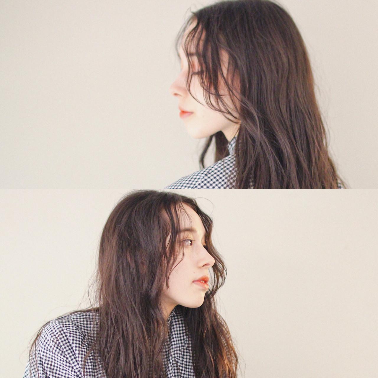 女子力 ウェーブ モード 外国人風 ヘアスタイルや髪型の写真・画像