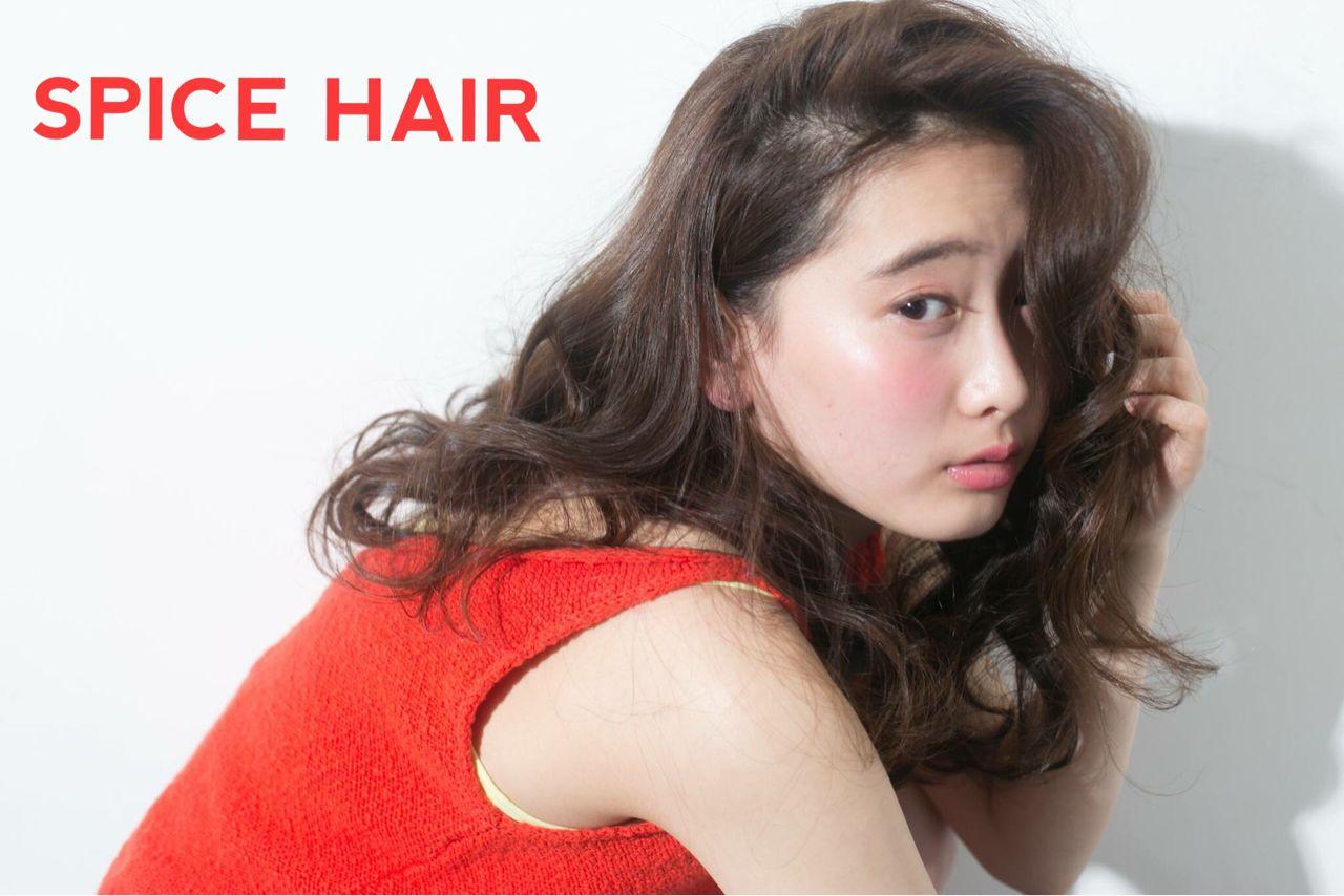 パンク ロング ウェットヘア ストリート ヘアスタイルや髪型の写真・画像